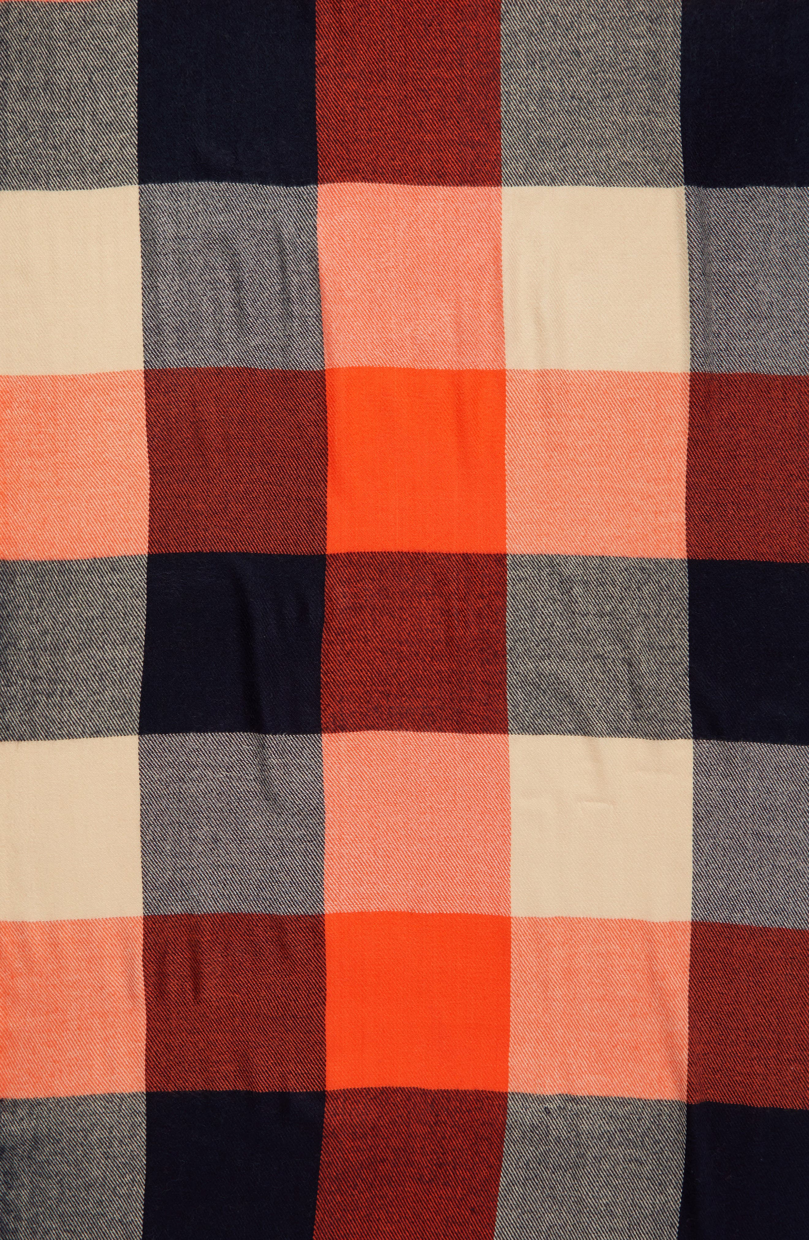 Alternate Image 3  - Madewell Checkmate Fringe Scarf
