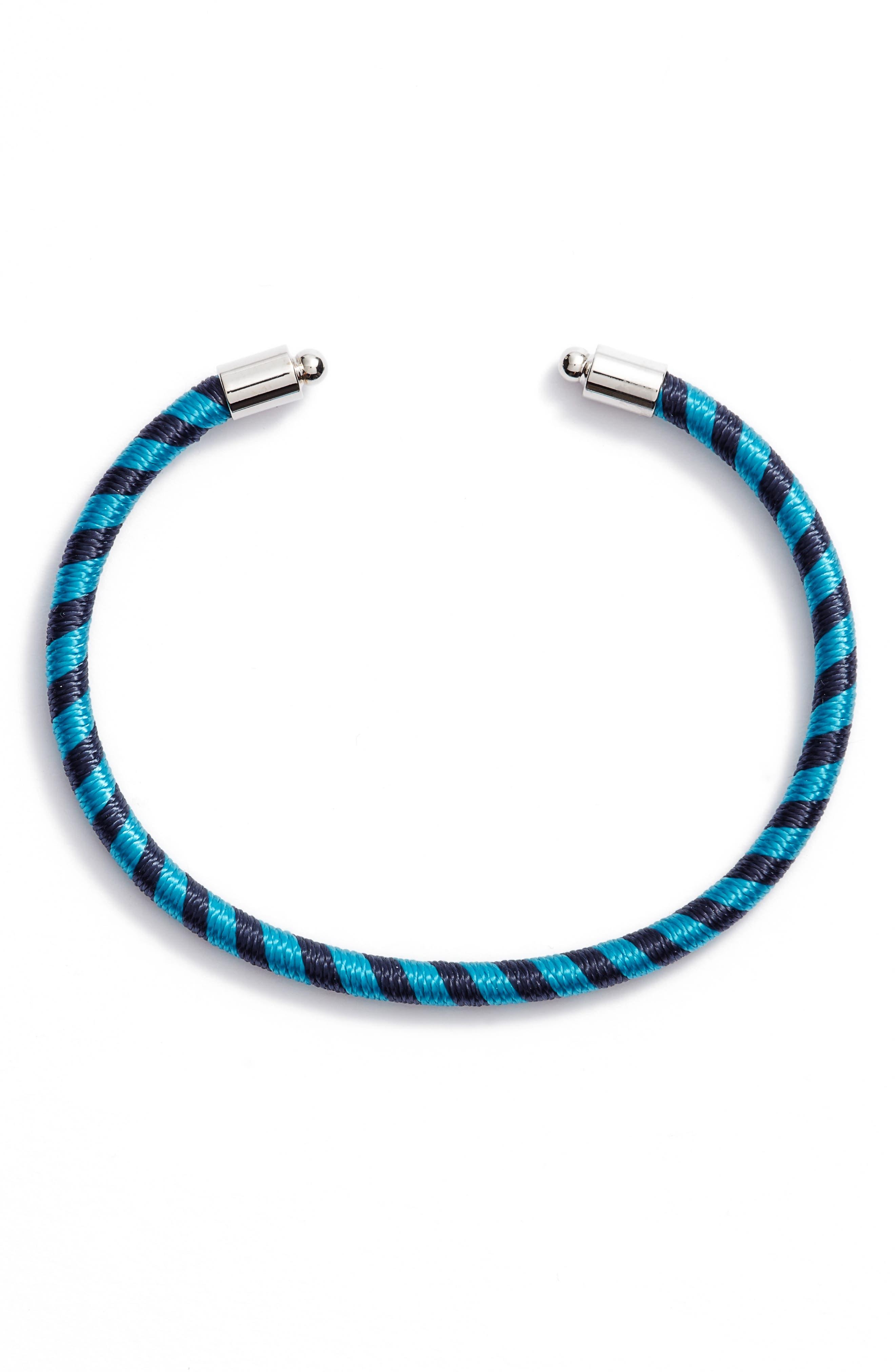 Alternate Image 1 Selected - Rebecca Minkoff Candy Stripe Cuff