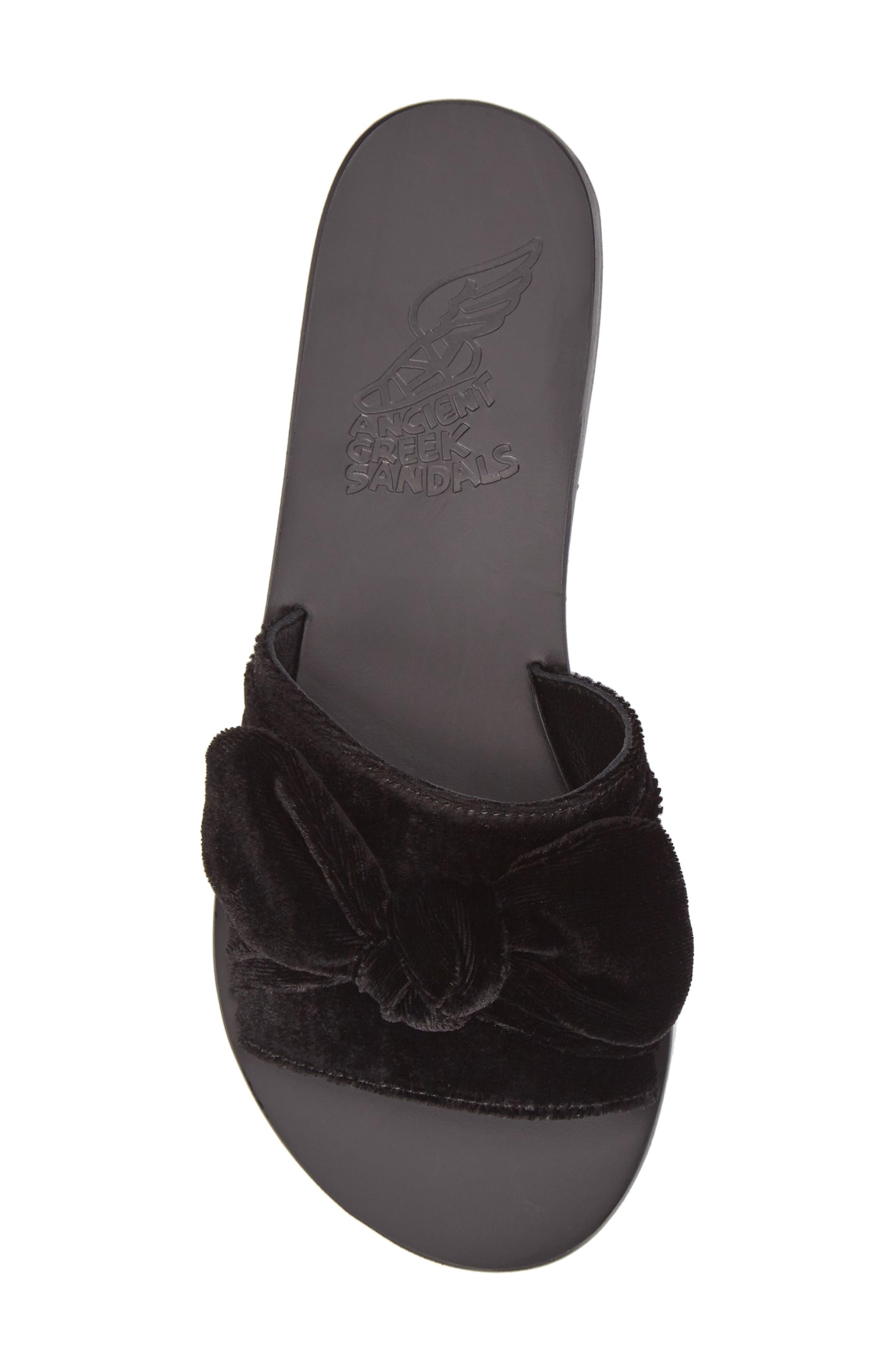 Alternate Image 6  - Ancient Greek Sandals Taygete Bow Slide Sandal (Women)