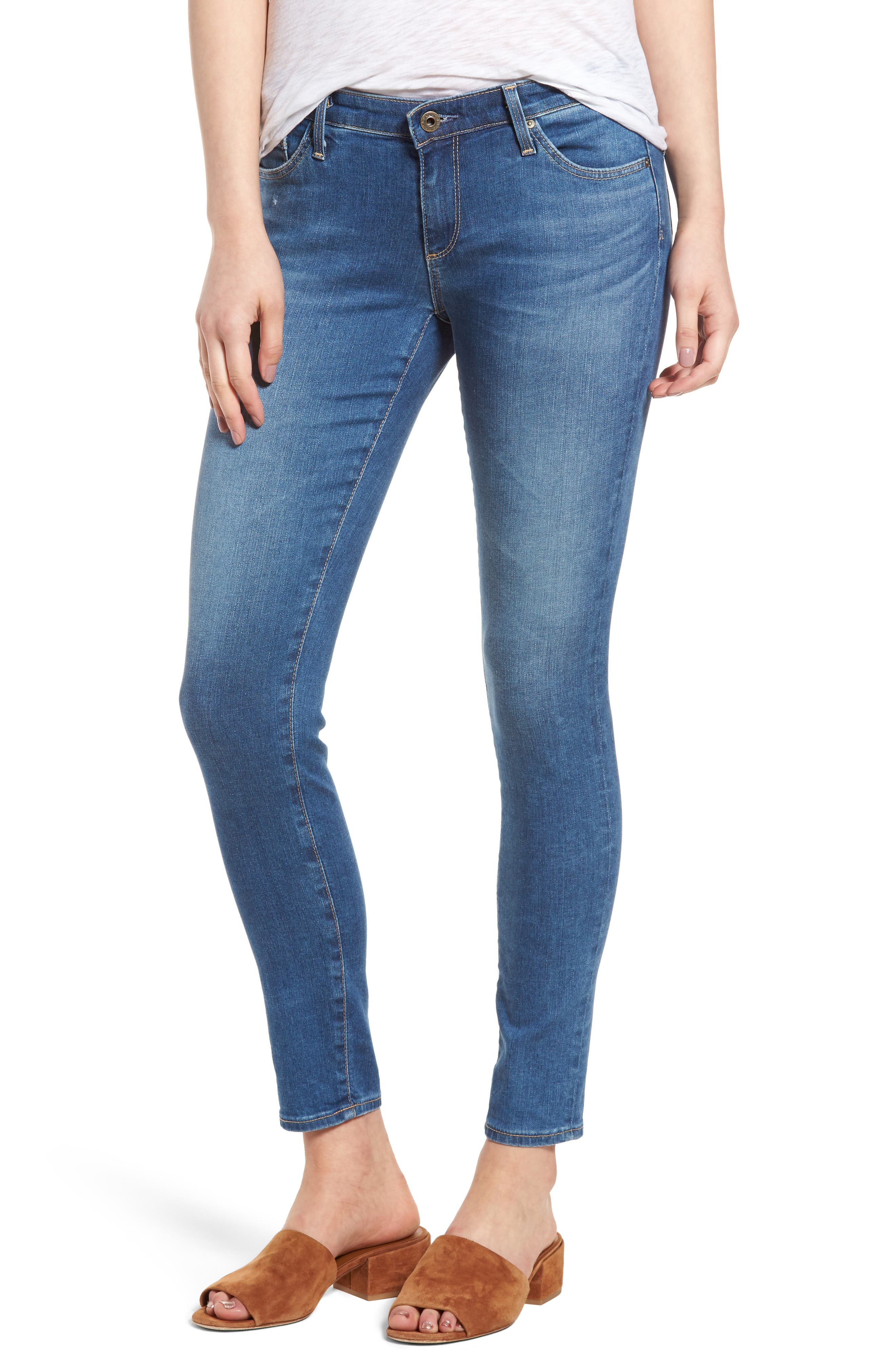 Alternate Image 1 Selected - AG The Legging Ankle Jeans (Emanate)