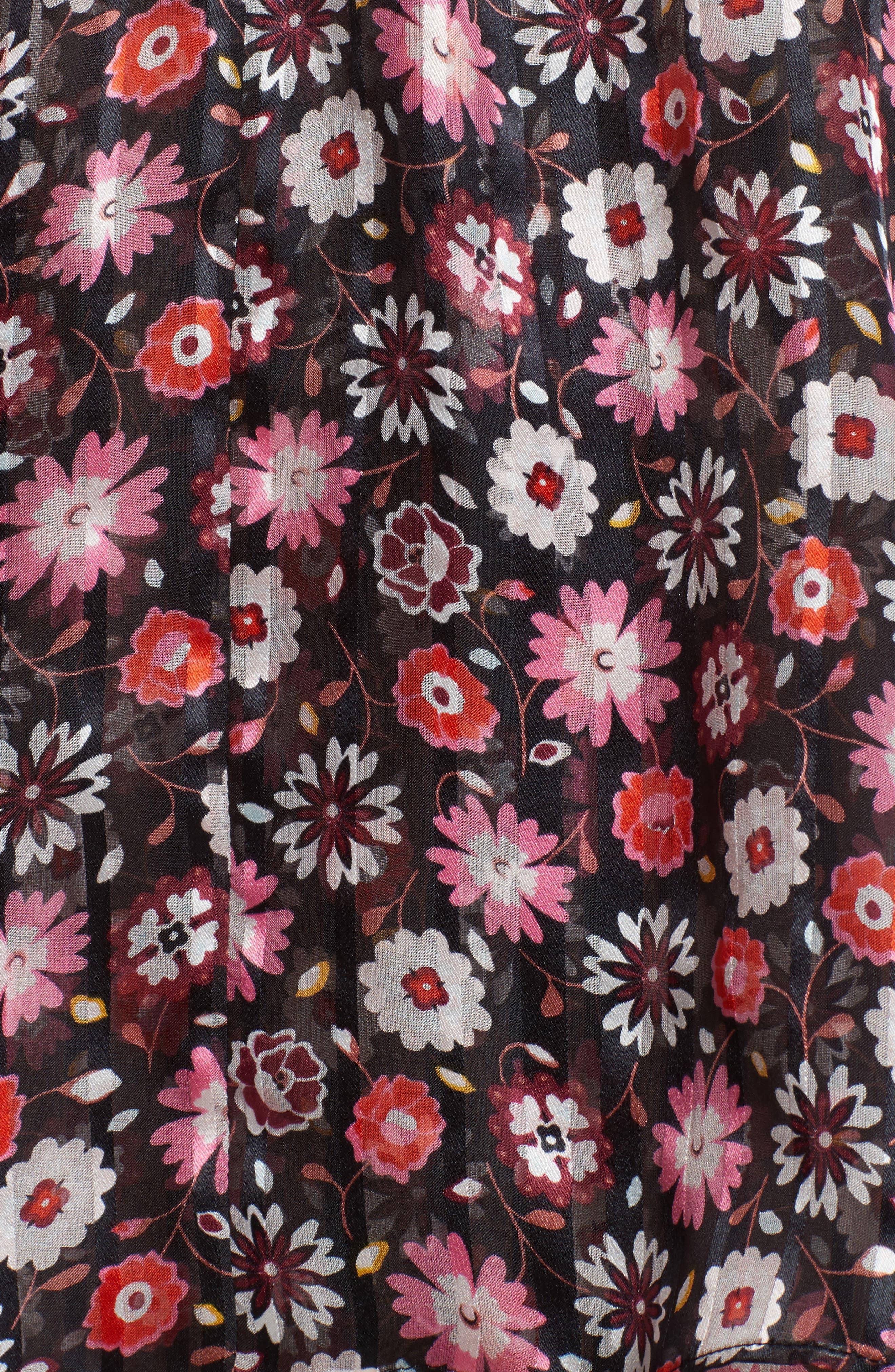 Alternate Image 5  - kate spade new york mini casa flora cold shoulder blouse