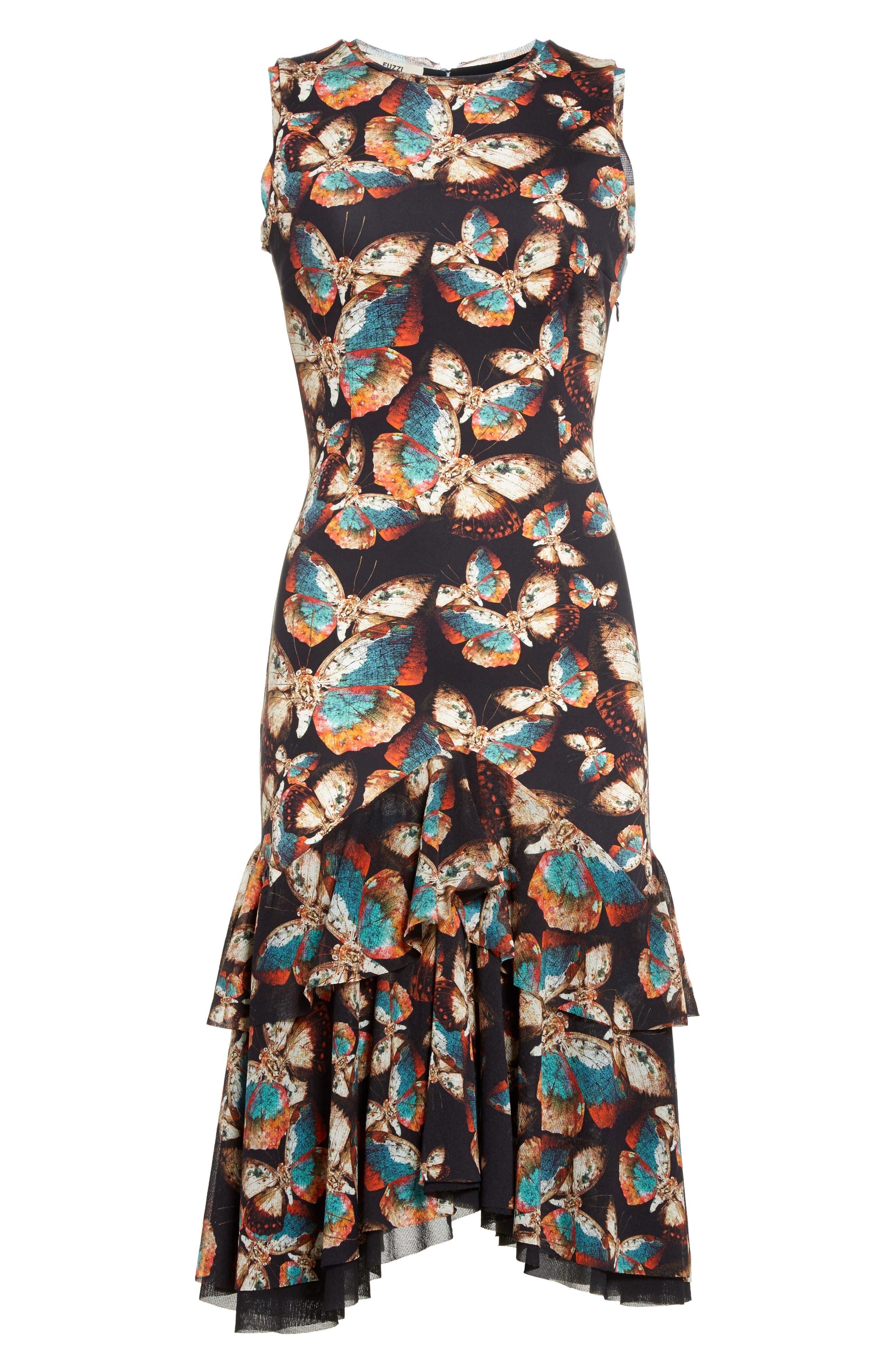 Alternate Image 4  - Fuzzi Tiered Tulle Dress