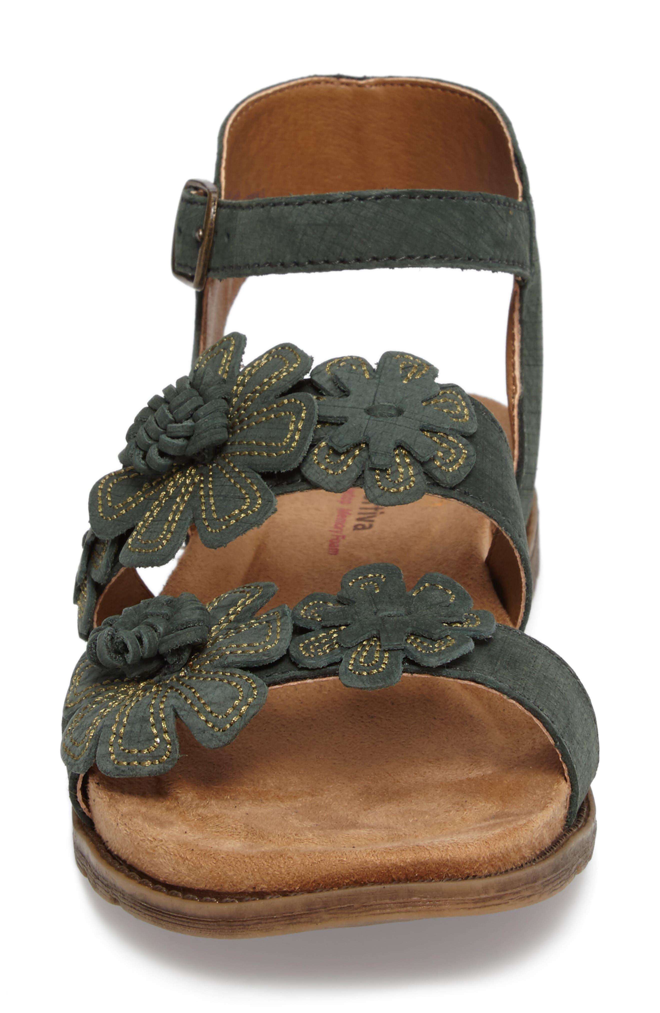 Alternate Image 4  - Comfortiva Alyssa Flower Appliqué Sandal (Women)