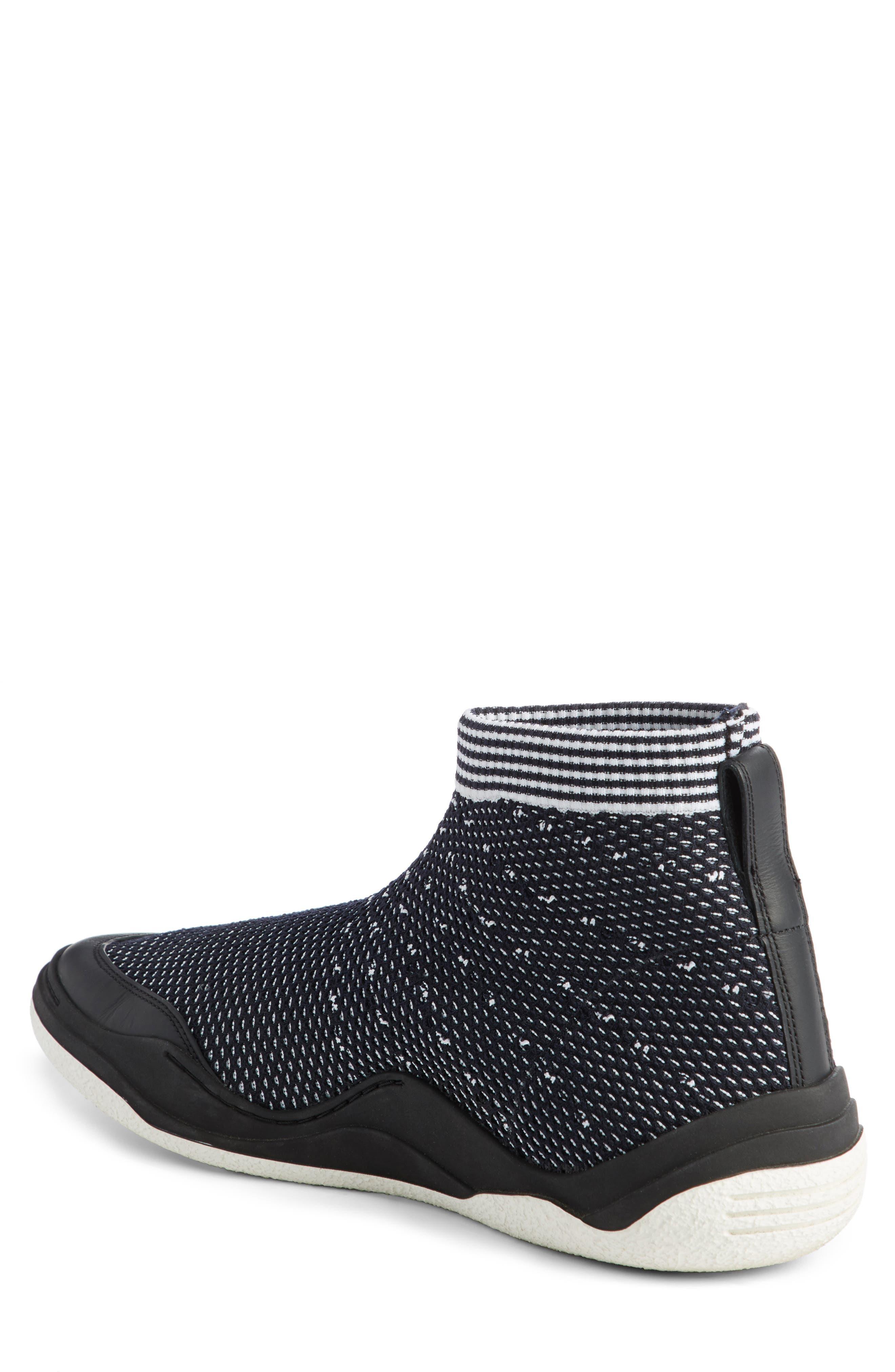 Alternate Image 2  - Lanvin Knit Sneaker (Men)