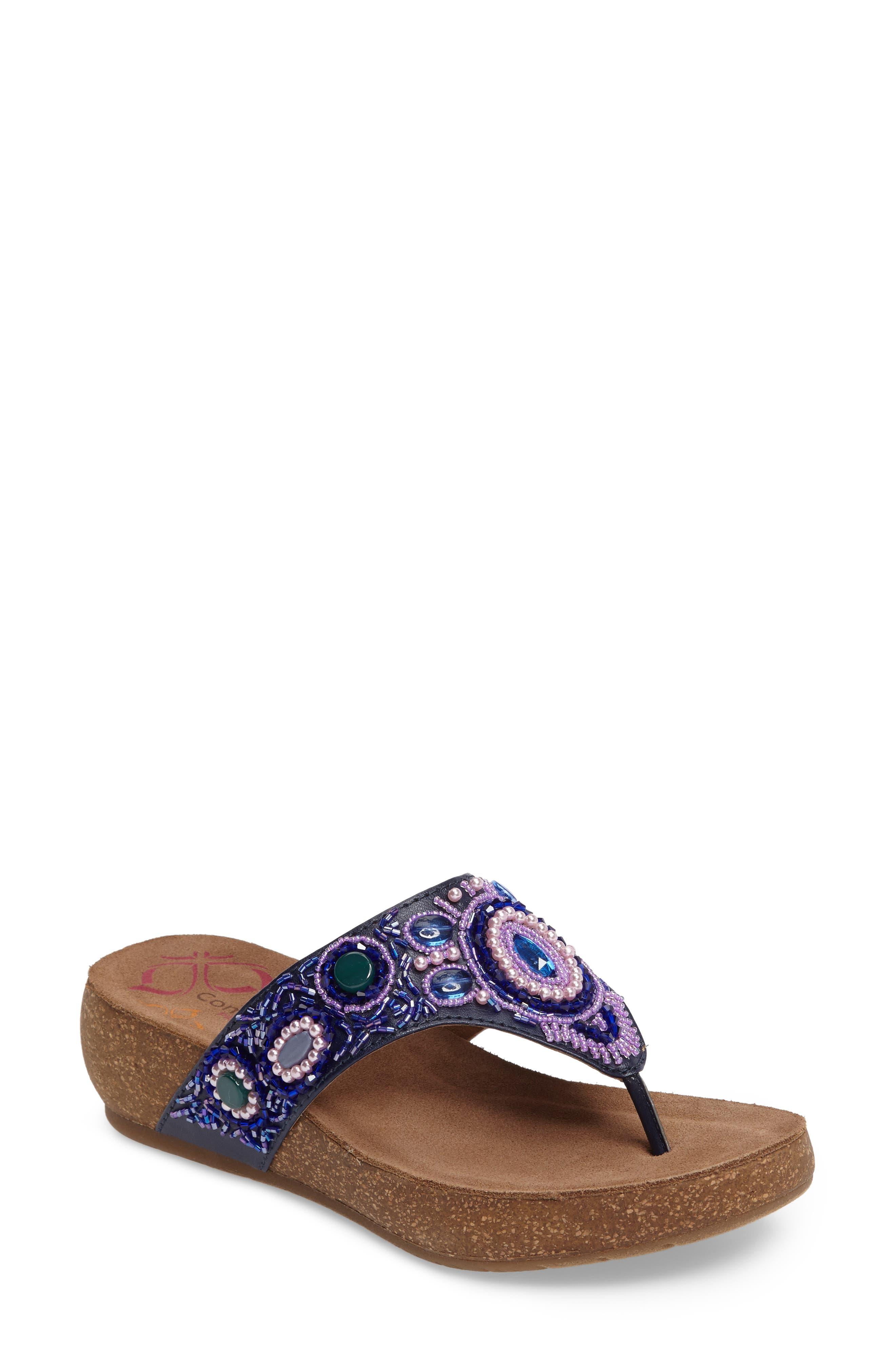 COMFORTIVA Sade Embellished Flip Flop