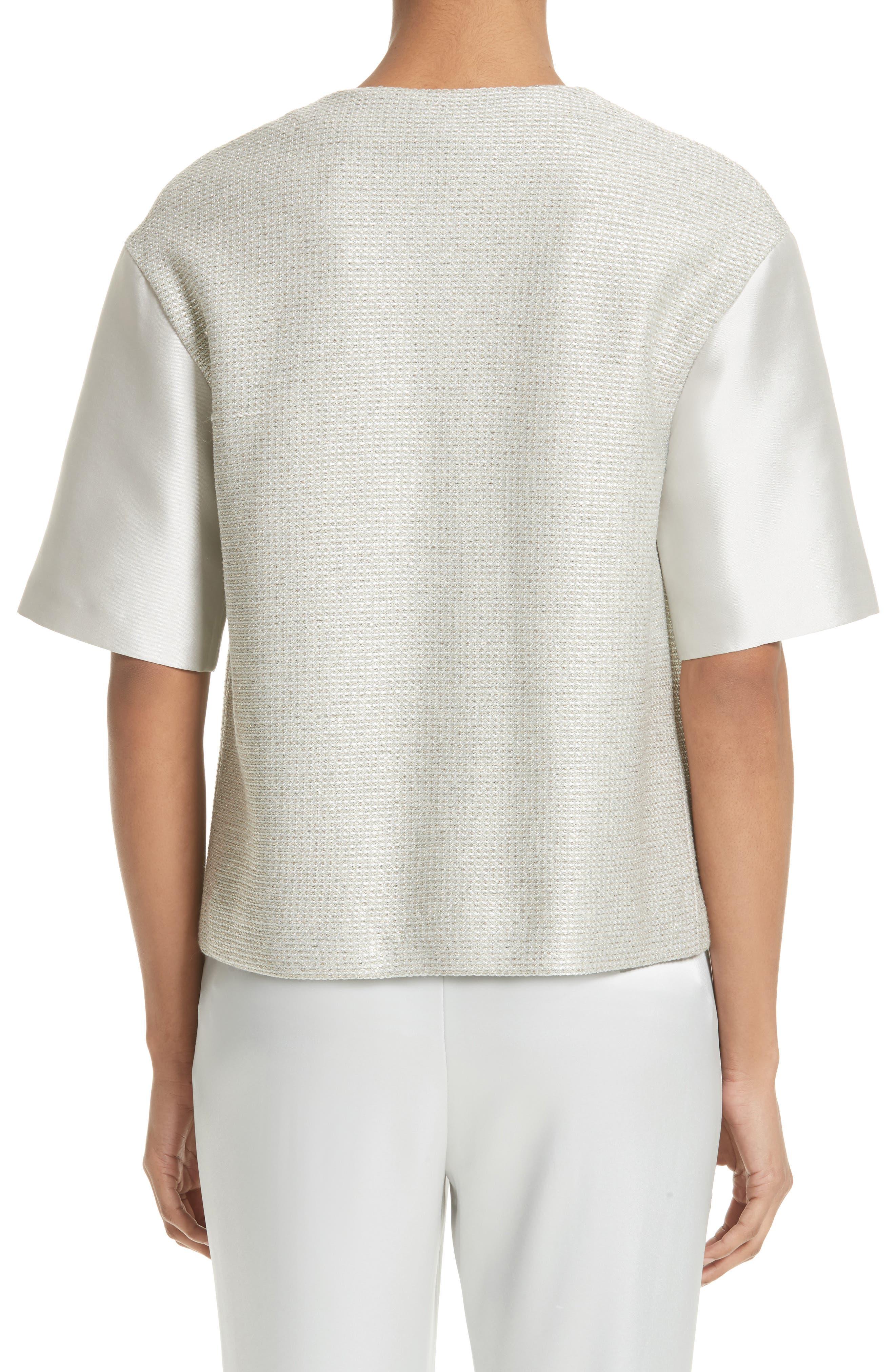 Alternate Image 2  - St. John Collection Beaded Jasmine Sparkle Knit Jacket