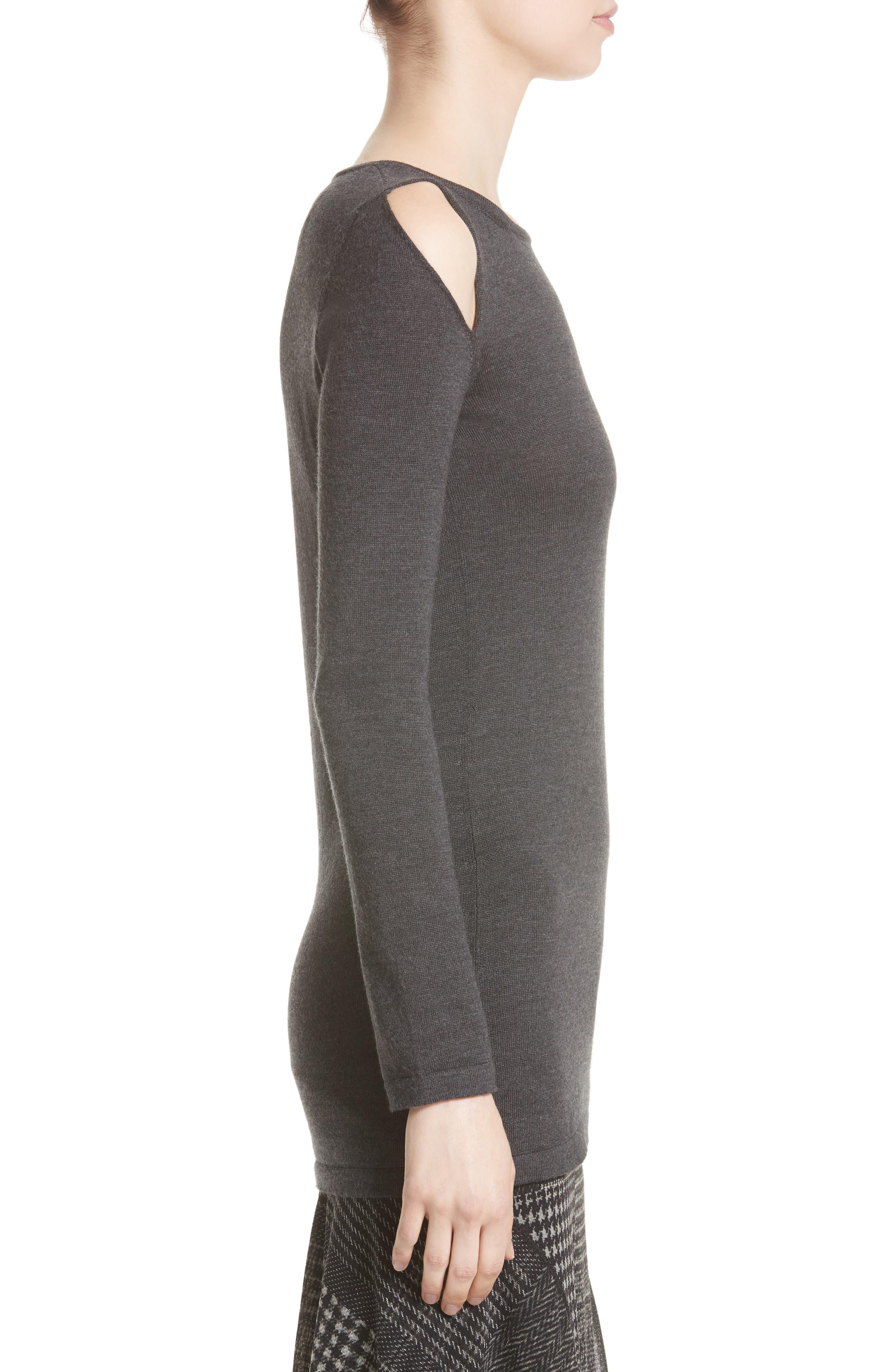 Alternate Image 4  - Fuzzi Cutout Merino Wool Sweater