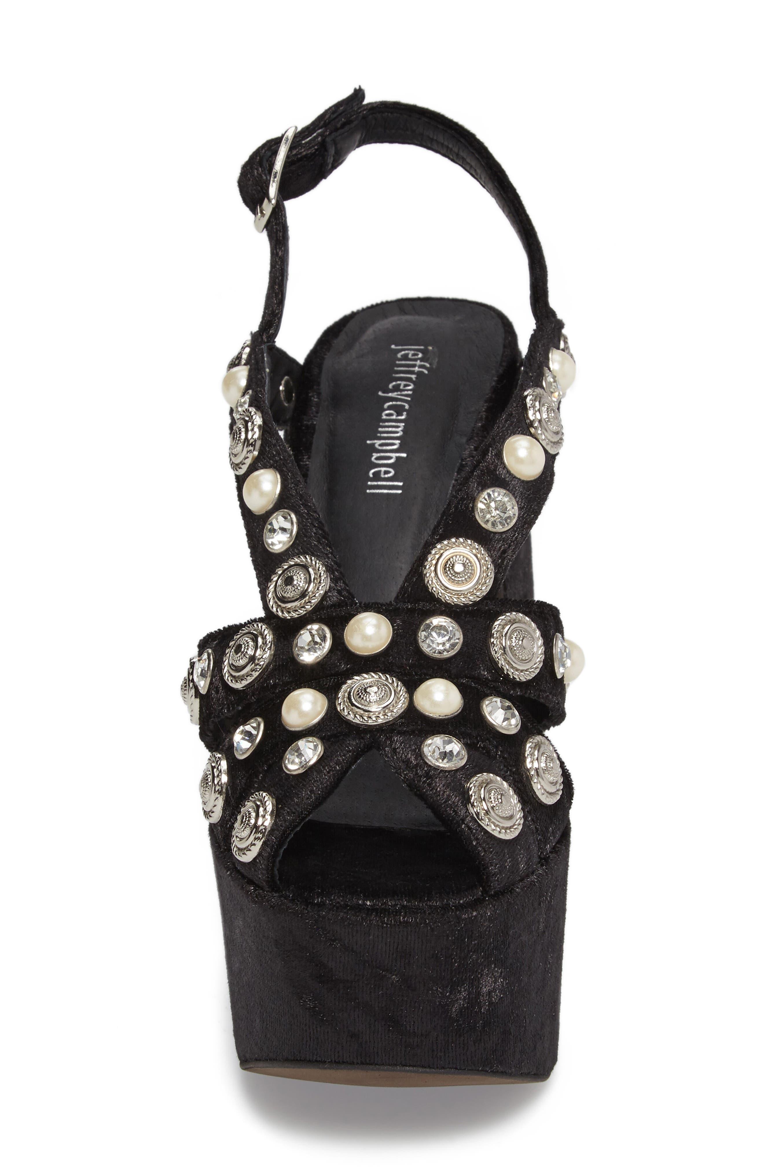 Alternate Image 4  - Jeffrey Campbell Briston Embellished Platform Sandal (Women)
