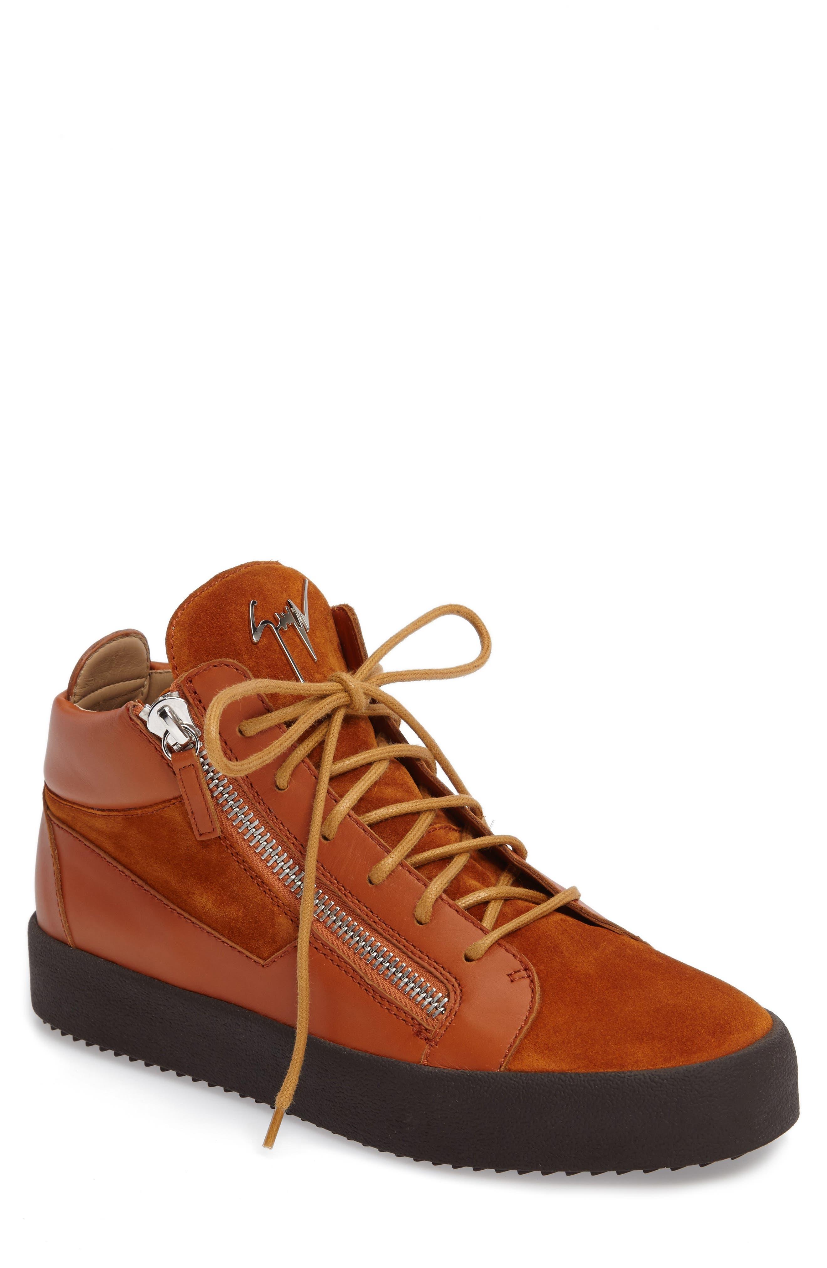 Giuseppe Zanotti Mid Top Sneaker (Men)