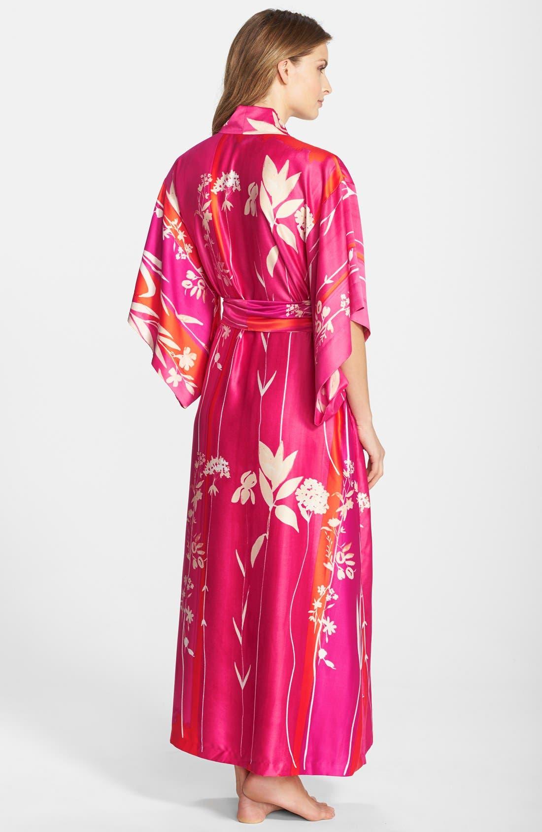 Alternate Image 2  - Natori 'Izabella' Satin Robe
