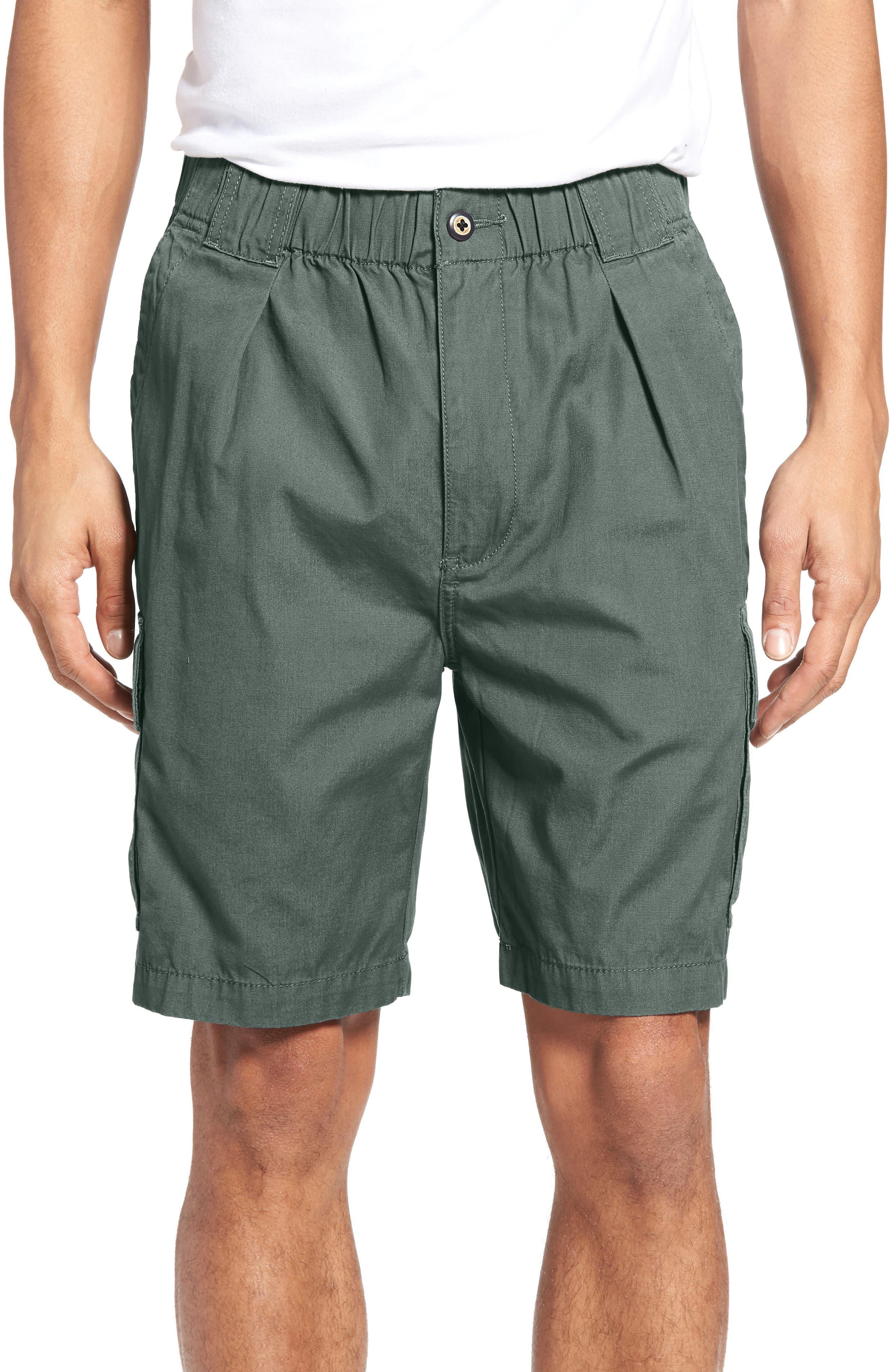 Survivor Cargo Shorts,                         Main,                         color, Balsam Green