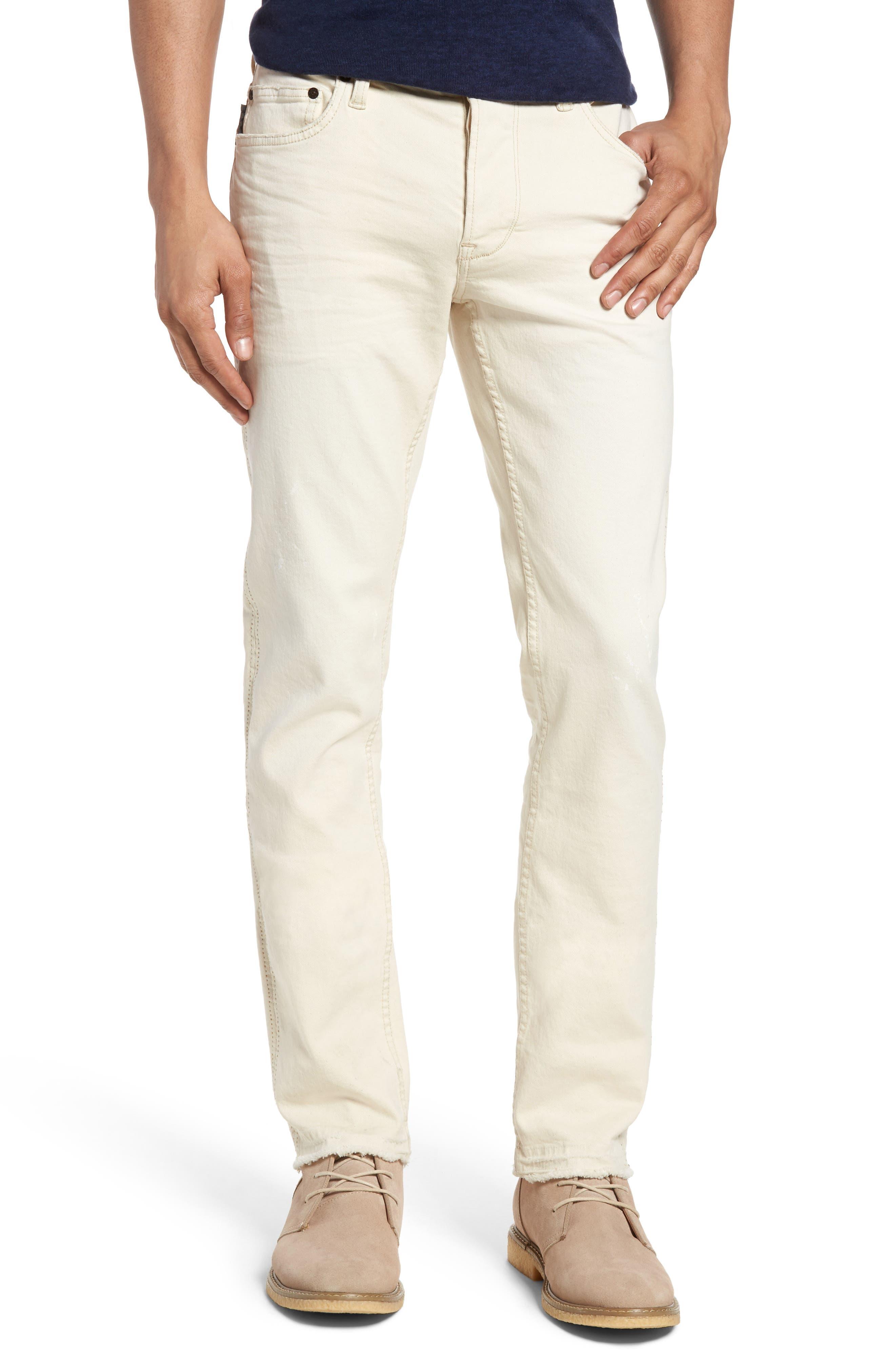 John Varvatos Star USA Wight Skinny Jeans