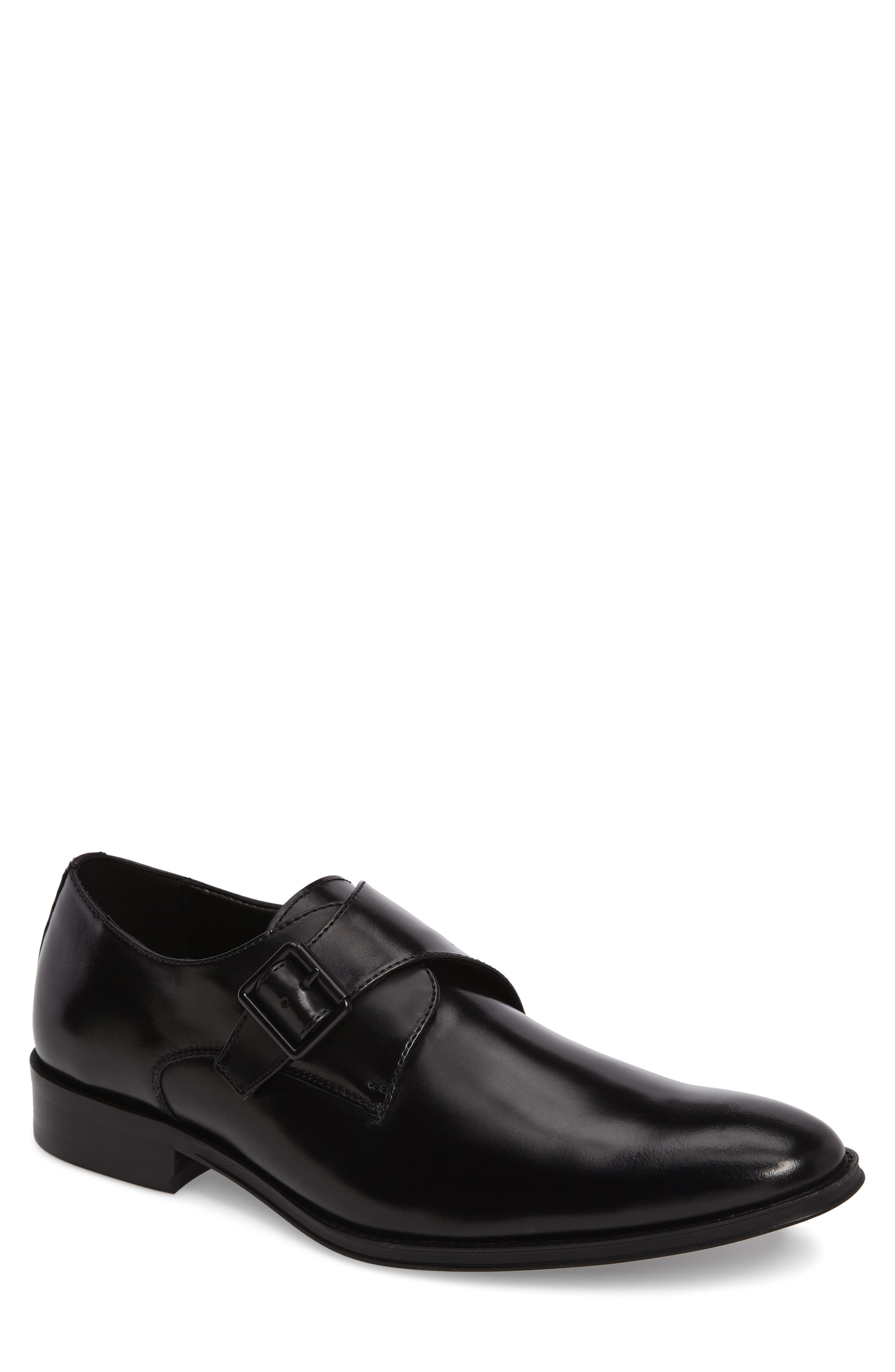 REACTION KENNETH COLE Sit-Up Monk Strap Shoe