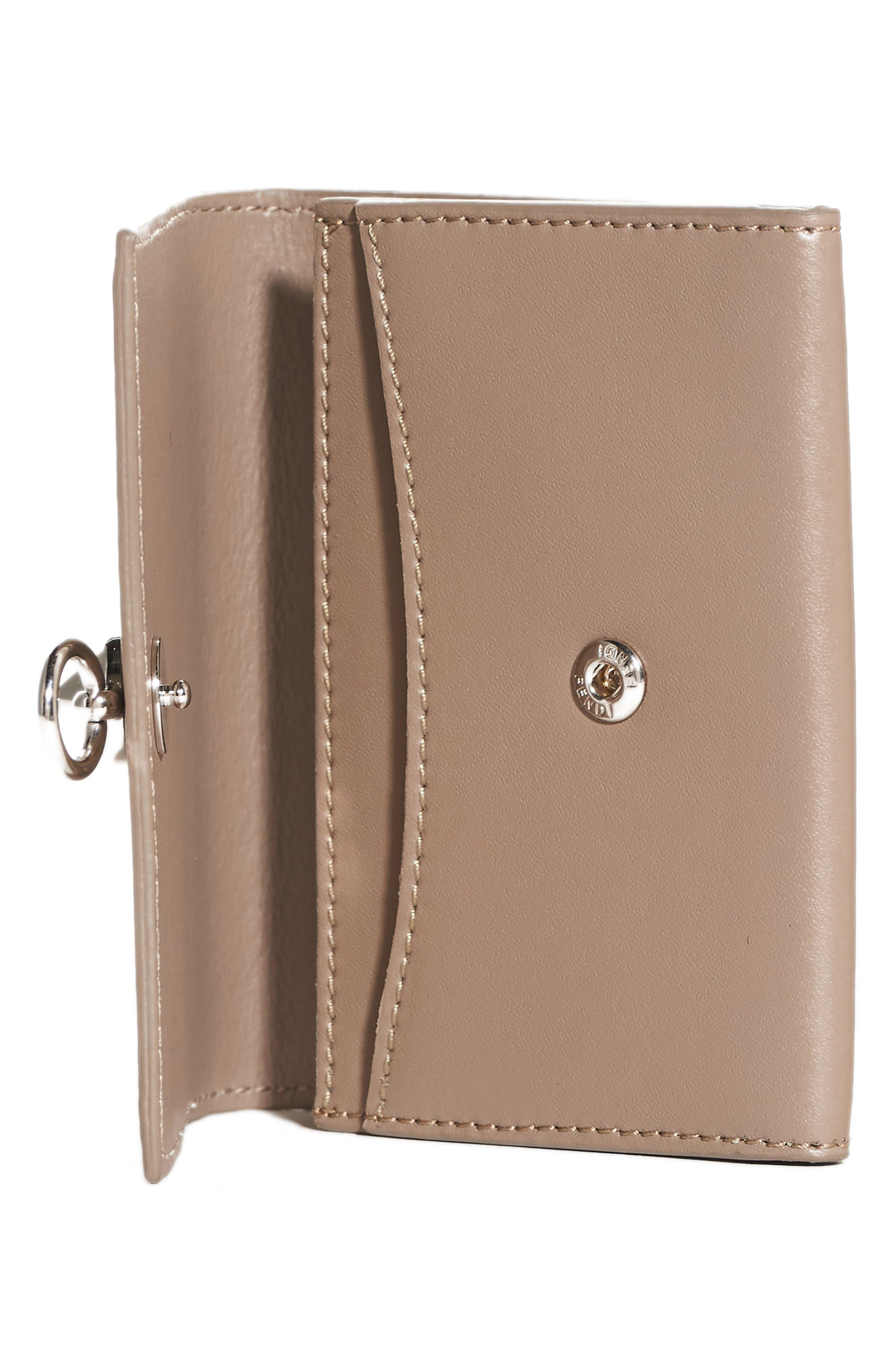 Alternate Image 2  - Fendi Leather Card Case