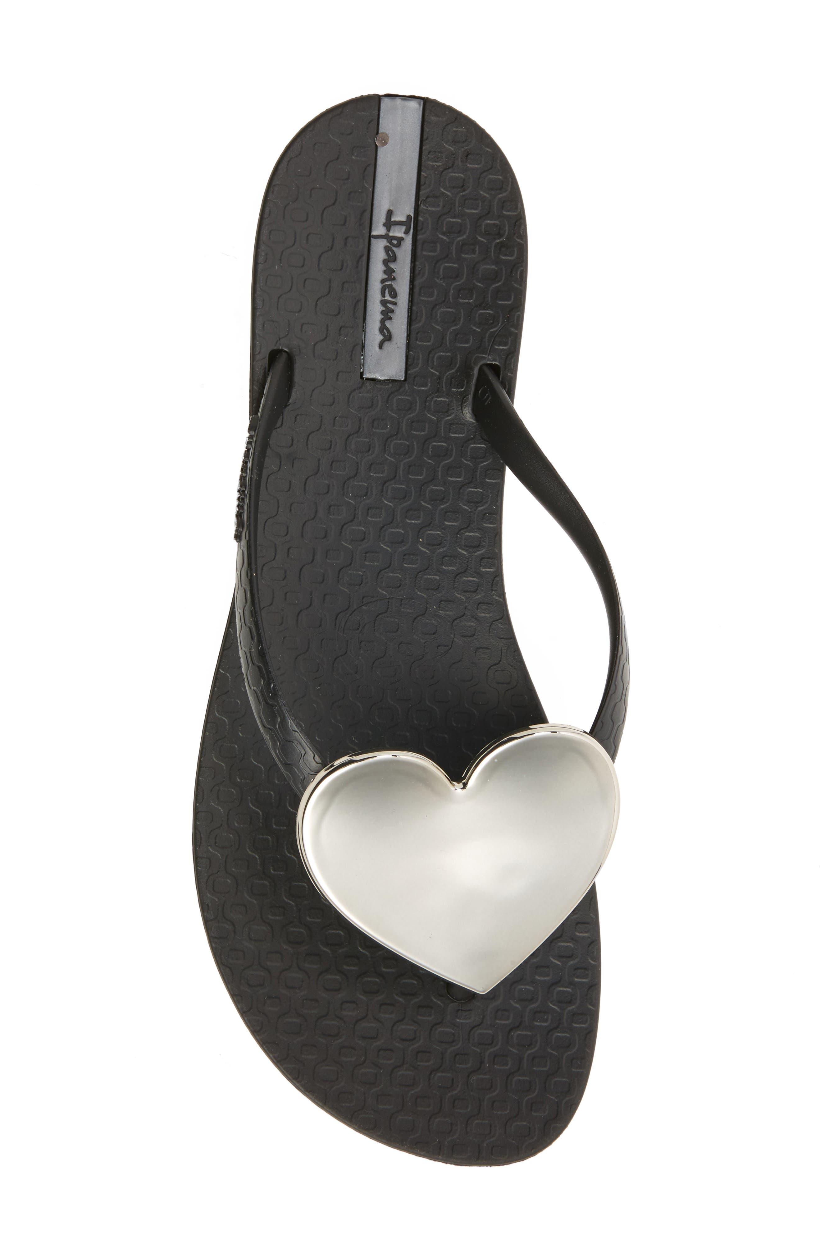 Alternate Image 5  - Ipanema Wave Heart Flip Flop