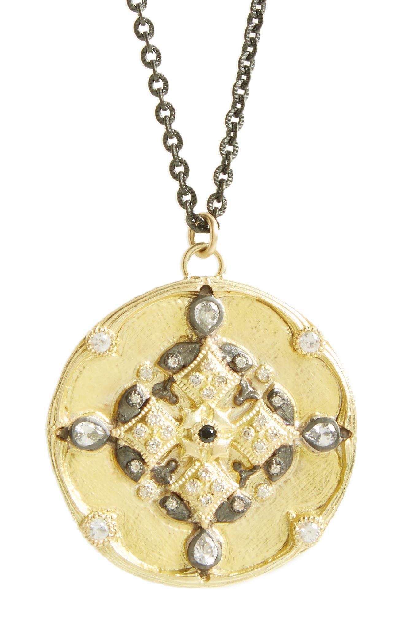 Alternate Image 2  - Armenta Old World Pendant Necklace