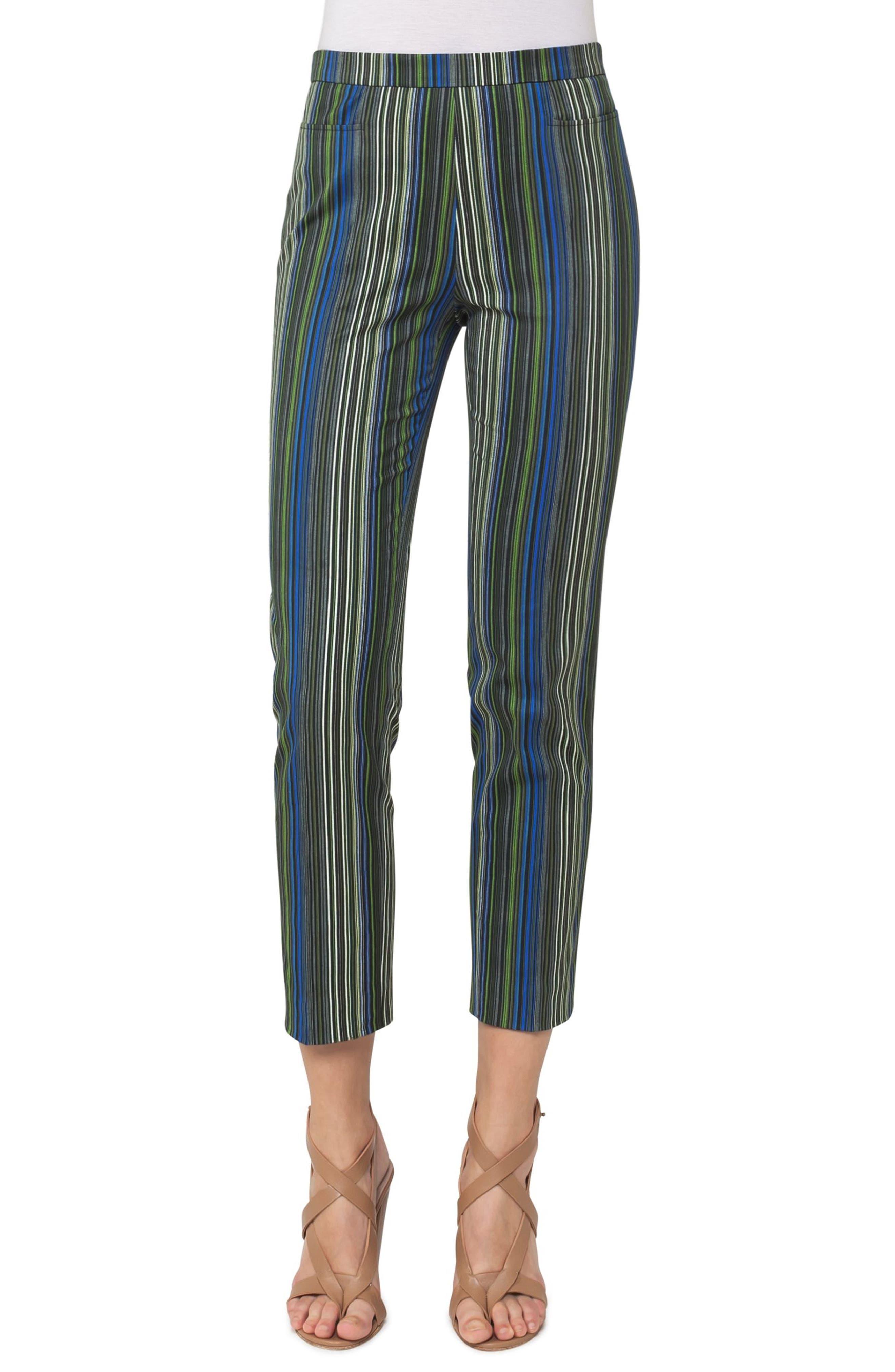 Alternate Image 1 Selected - Akris punto Franca Paracas Stripe Pants