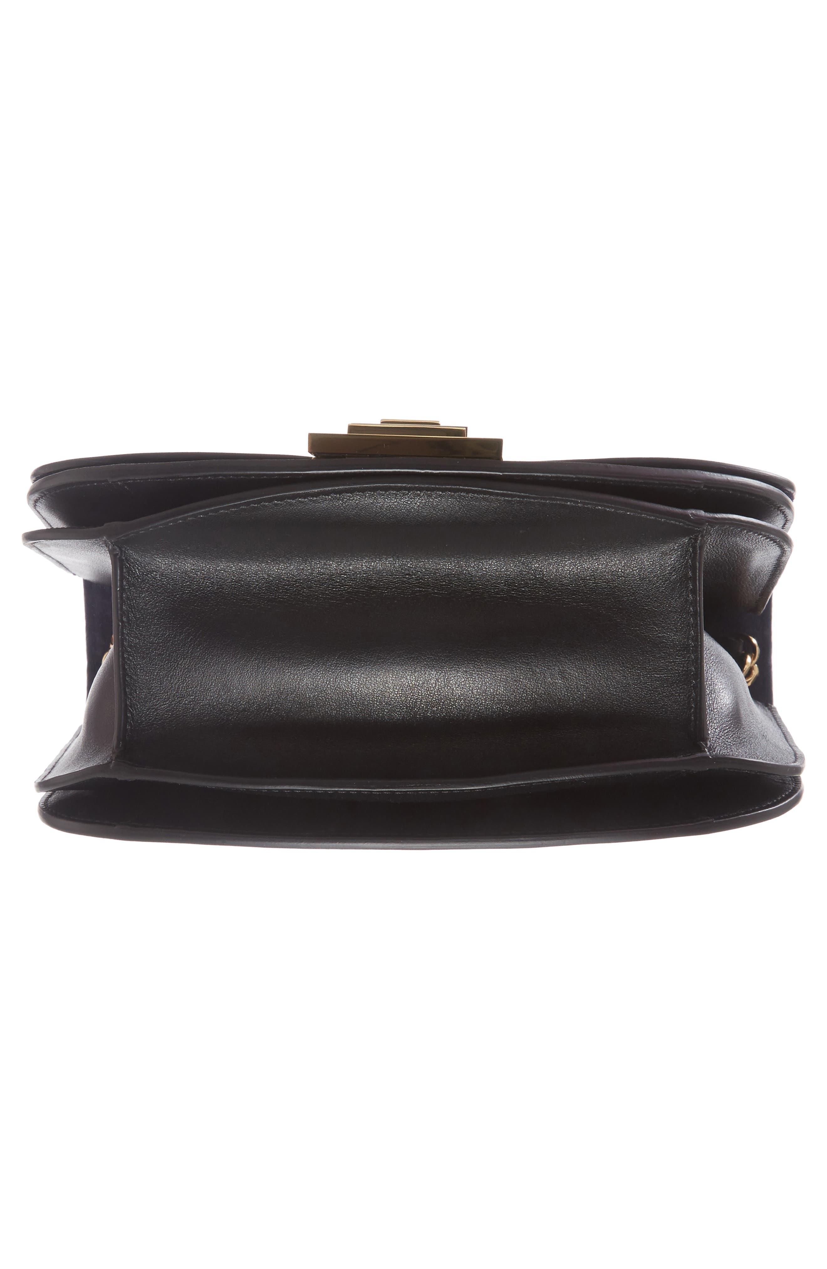 Leather Bag,                             Alternate thumbnail 6, color,                             Black