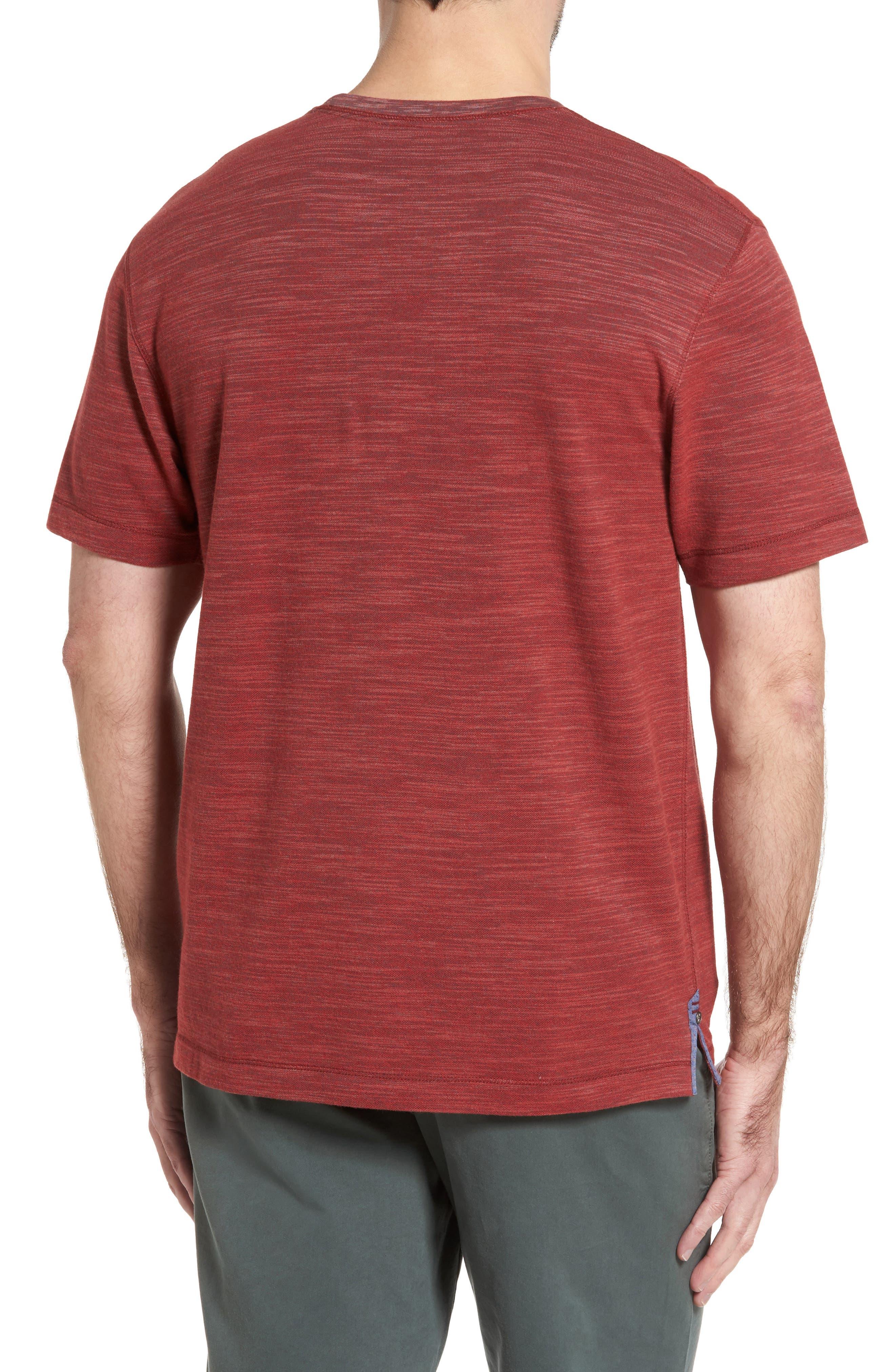 Alternate Image 2  - Thaddeus Paxton Space Dye Piqué T-Shirt