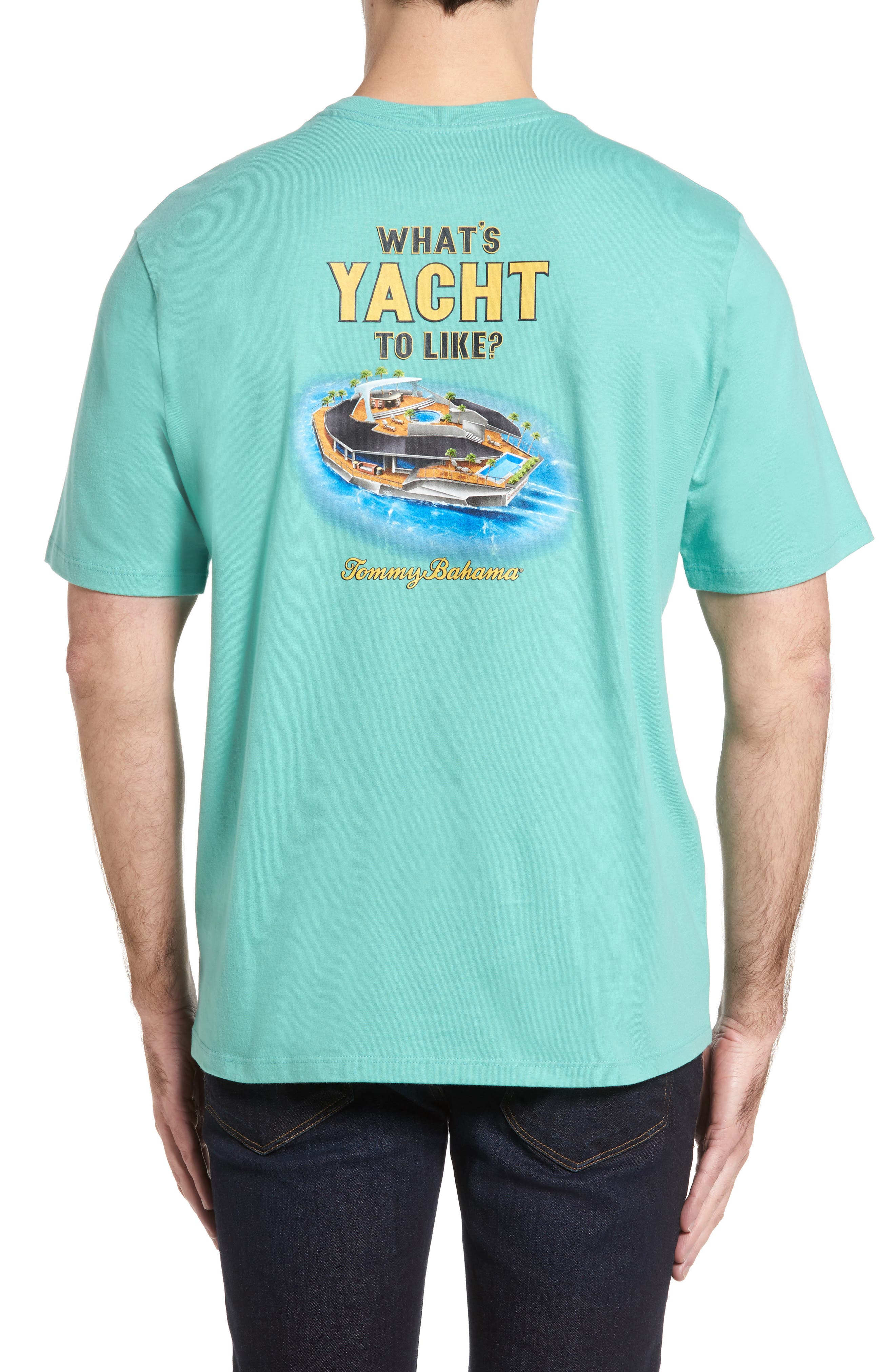 What's Yacht to Like T-Shirt,                         Main,                         color, Geiser