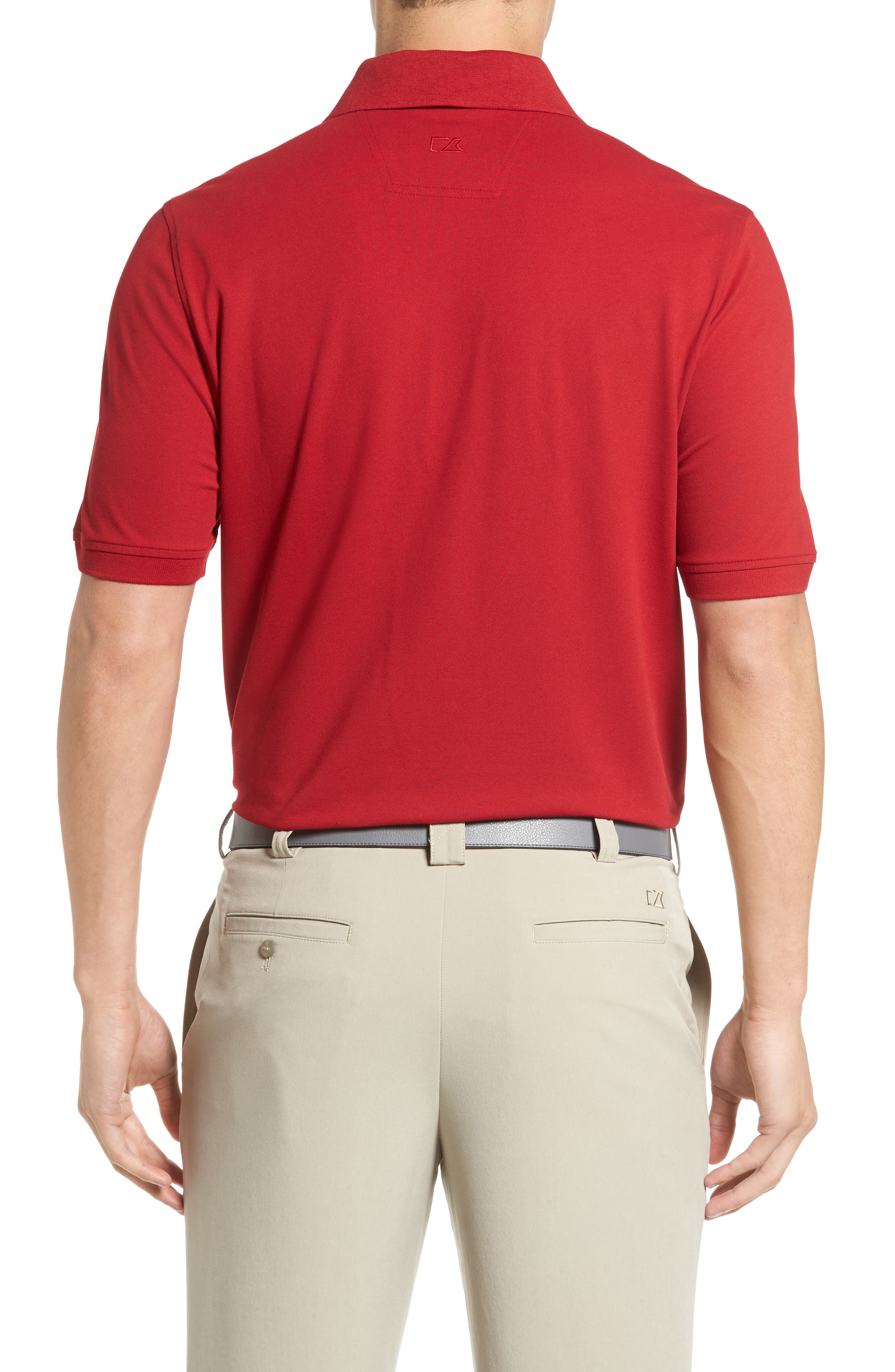 Advantage Golf Polo,                             Alternate thumbnail 2, color,                             Card Red