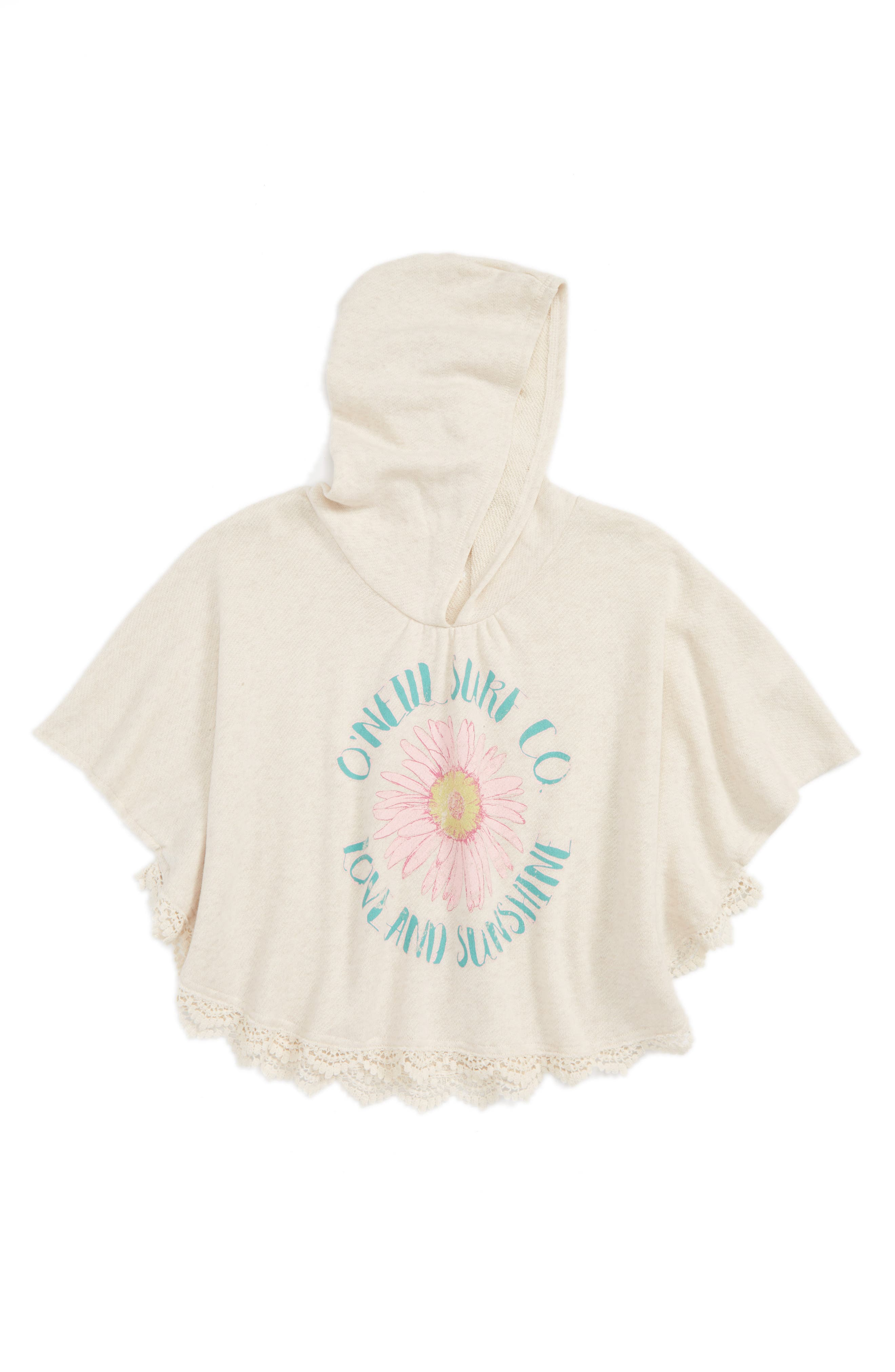 Main Image - O'Neill Dreamer French Terry Hoodie (Toddler Girls & Little Girls)