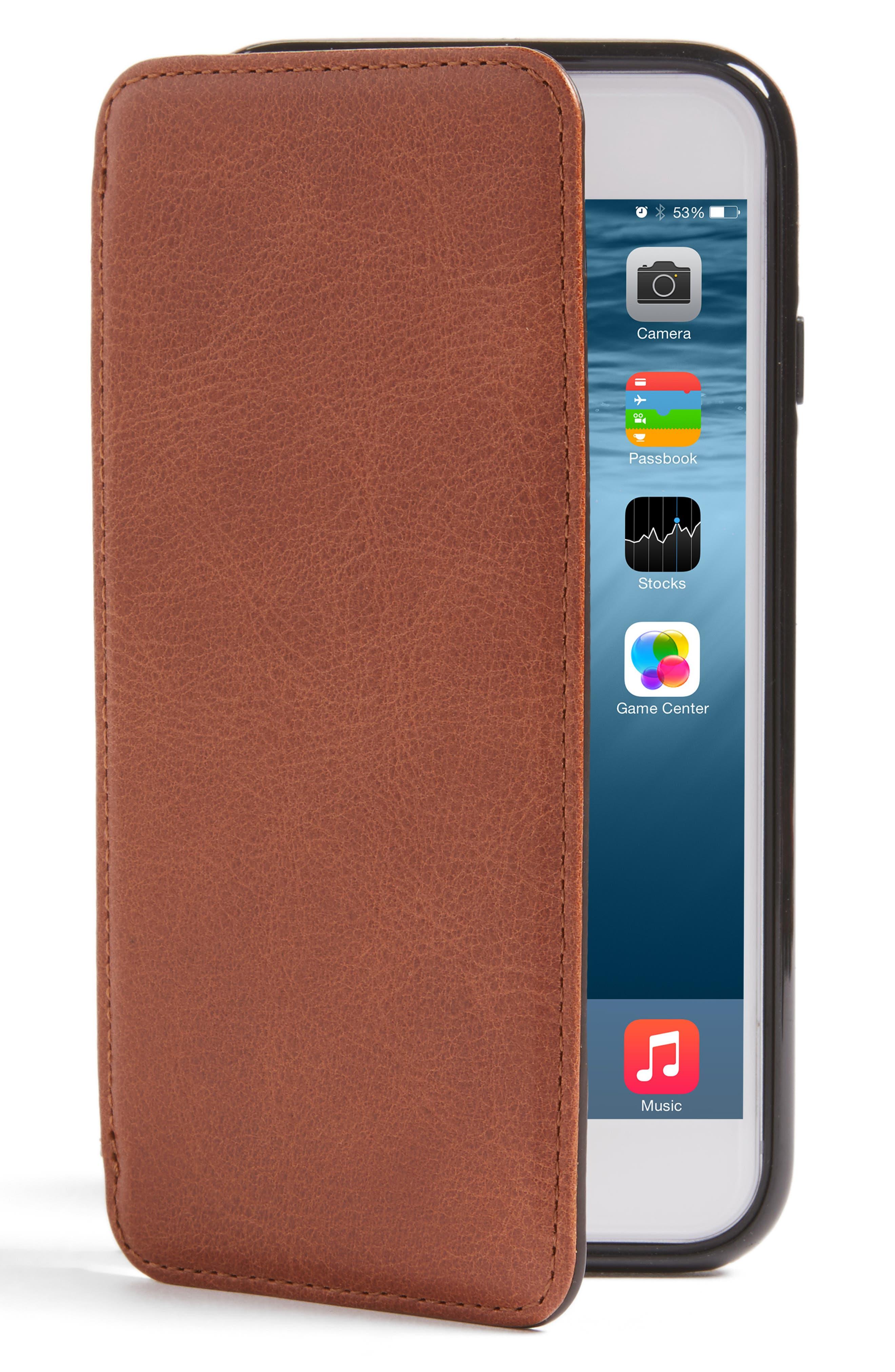 Sena iPhone 7/8 Leather Wallet Case