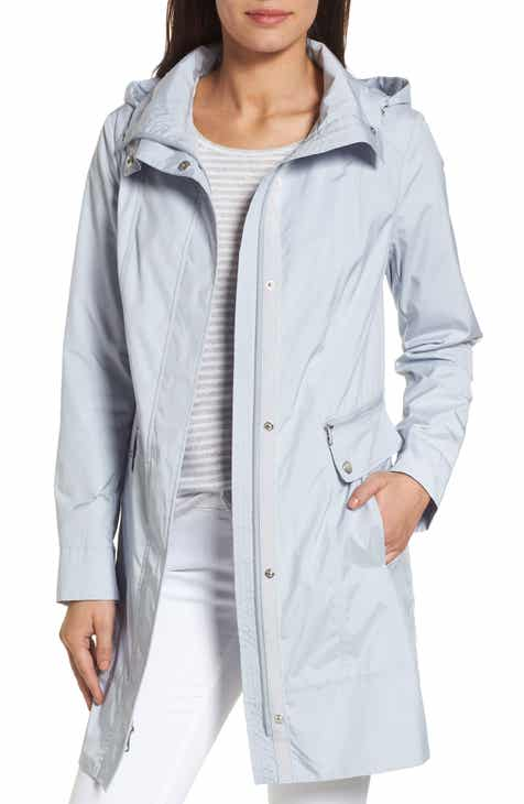 Cole Haan Signature Back Bow Packable Hooded Raincoat (Regular & Petite) by COLE HAAN SIGNATURE