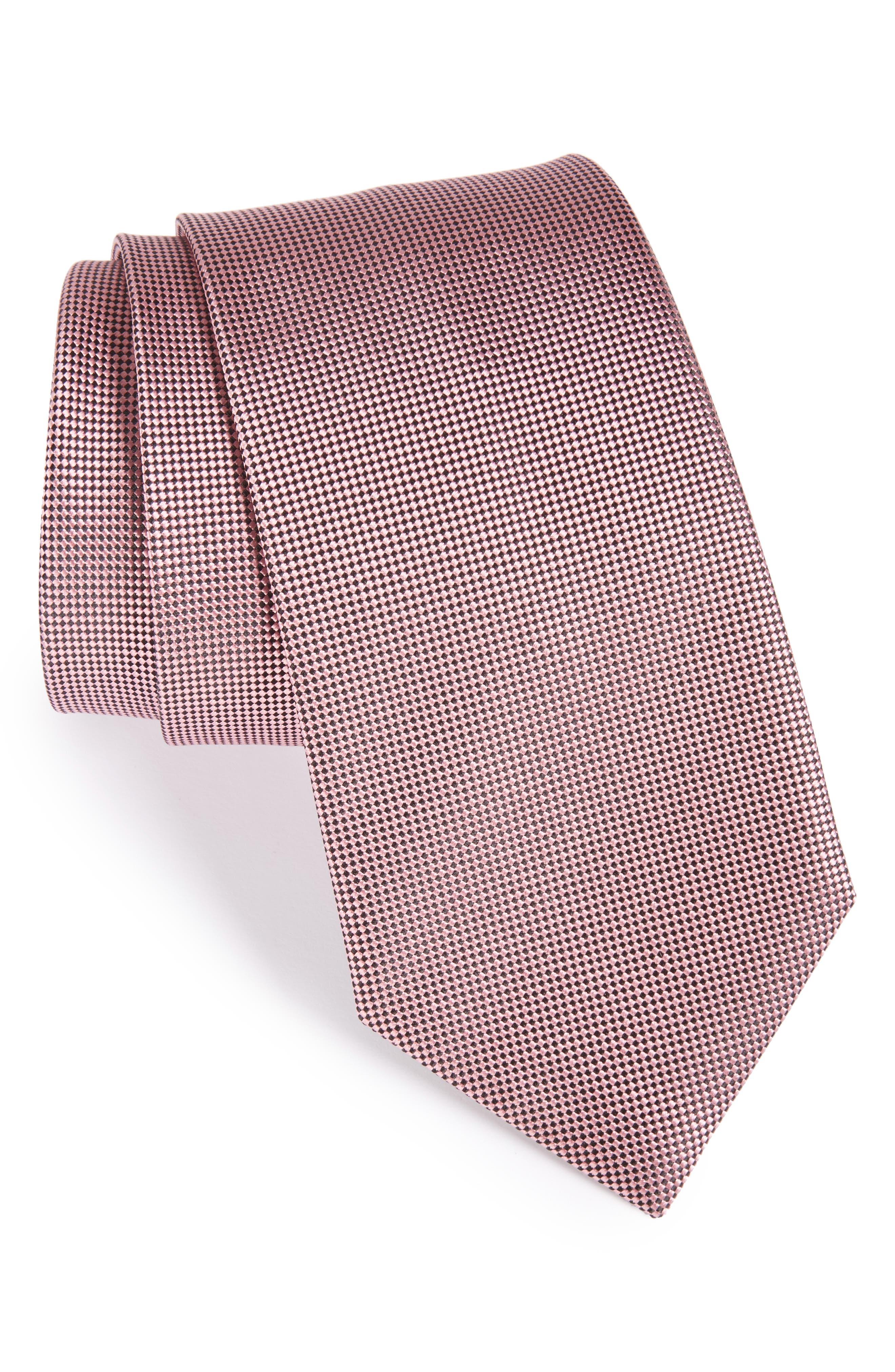 Alternate Image 1 Selected - Ermenegildo Zegna Geometric Silk Tie