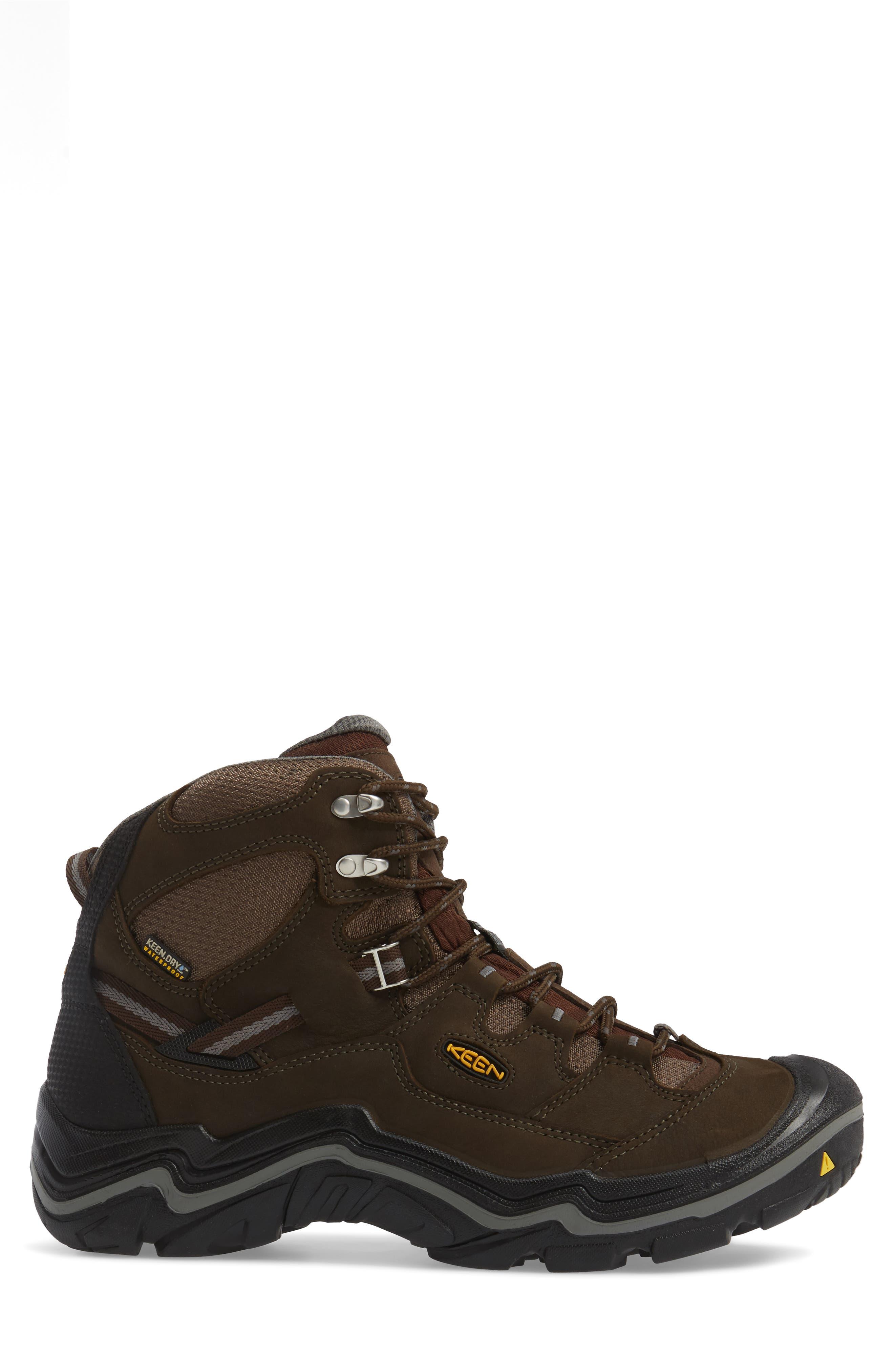 Alternate Image 3  - Keen Durand Mid Waterproof Hiking Boot (Men)