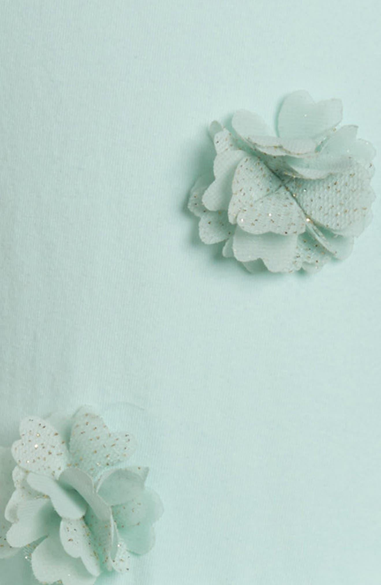 Alternate Image 3  - Popatu Flower Tulle Dress (Toddler Girls, Little Girls & Big Girls)
