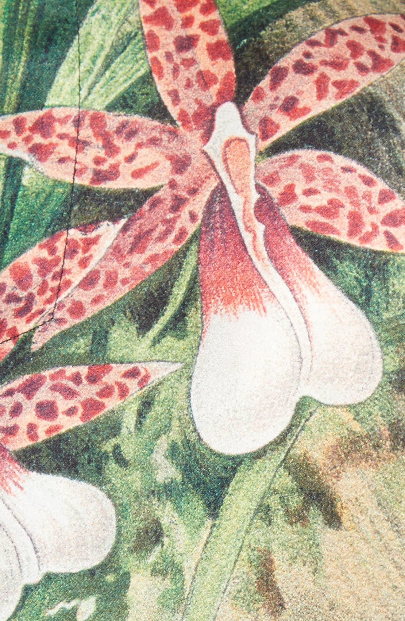 Alternate Image 3  - Adam Lippes Print Silk Tee