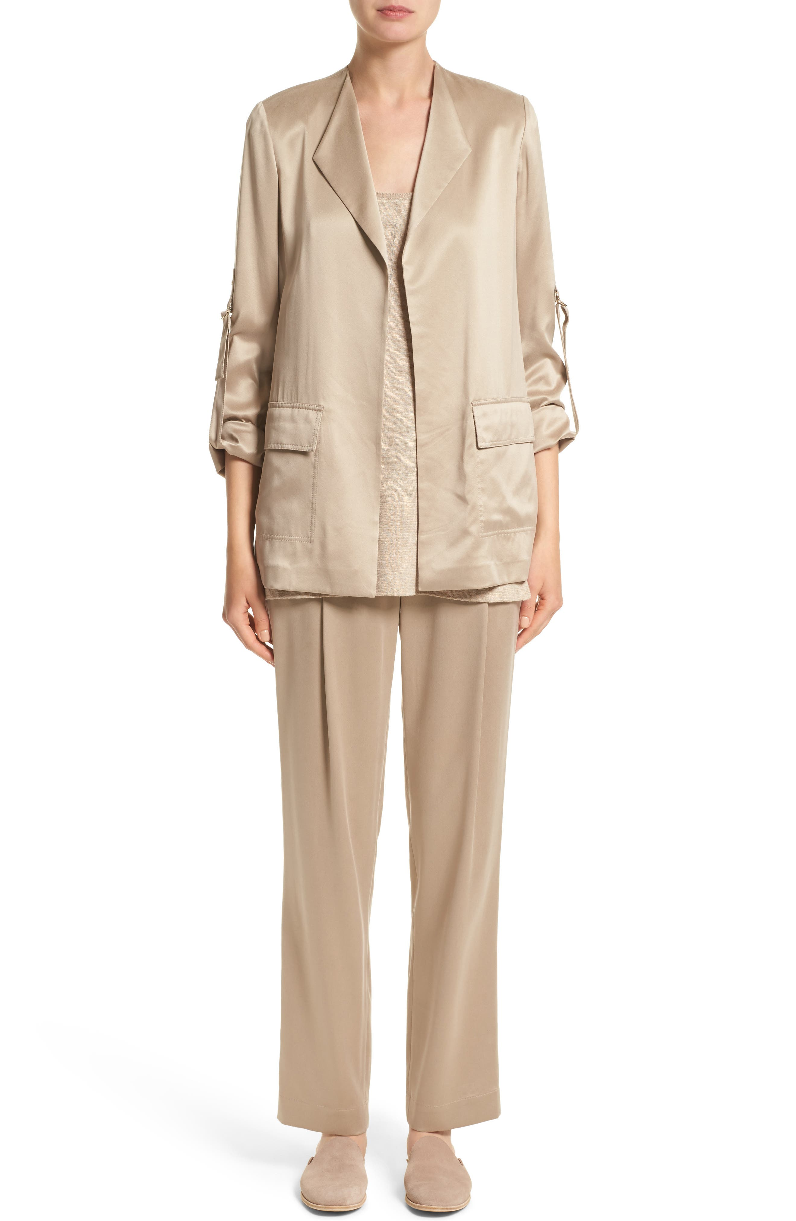 Alternate Image 6  - Lafayette 148 New York Halden Silk Jacket