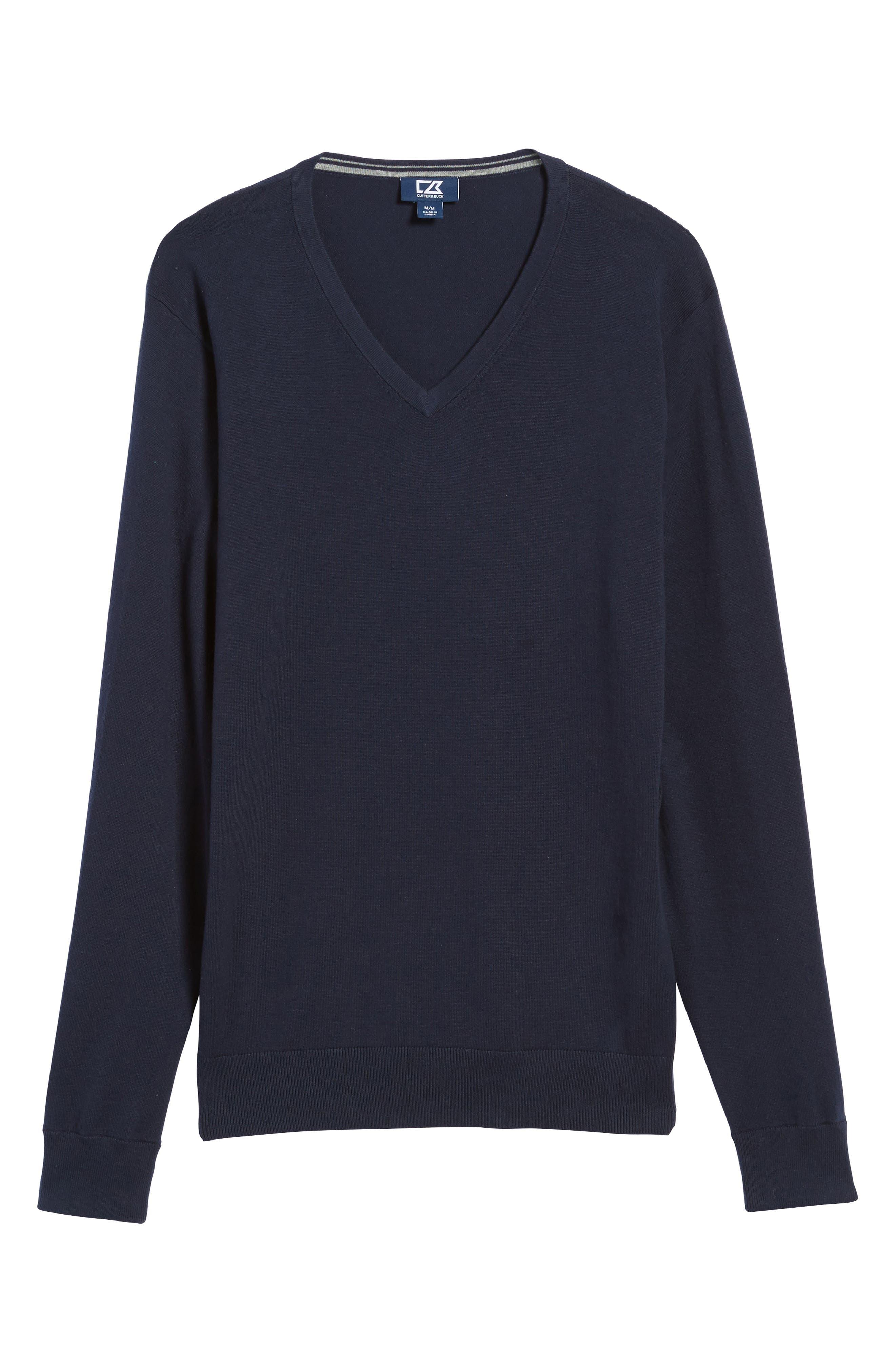 Alternate Image 6  - Cutter & Buck Lakemont V-Neck Sweater