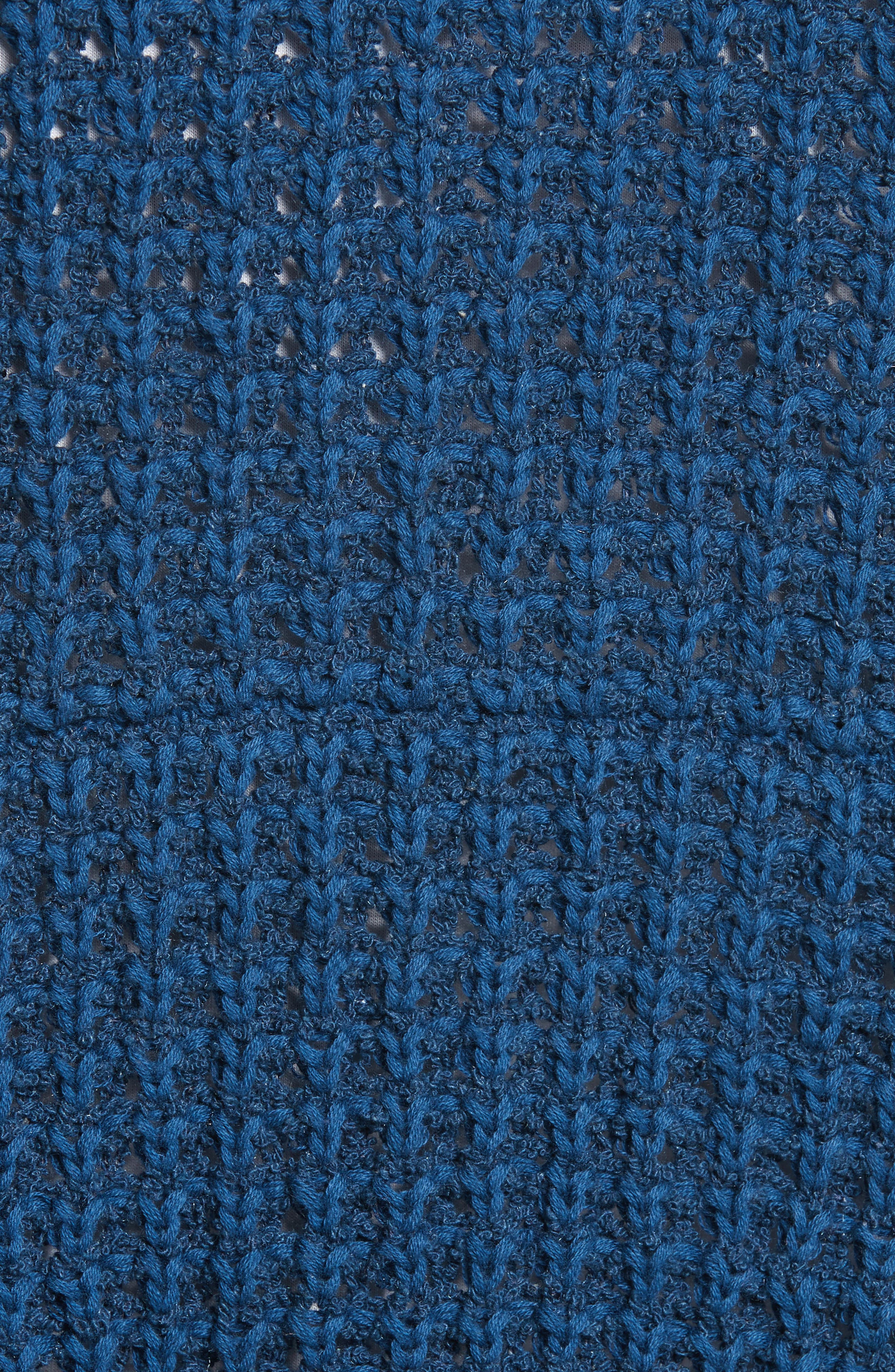 I'll Be Around Cardigan,                             Alternate thumbnail 5, color,                             Sapphire