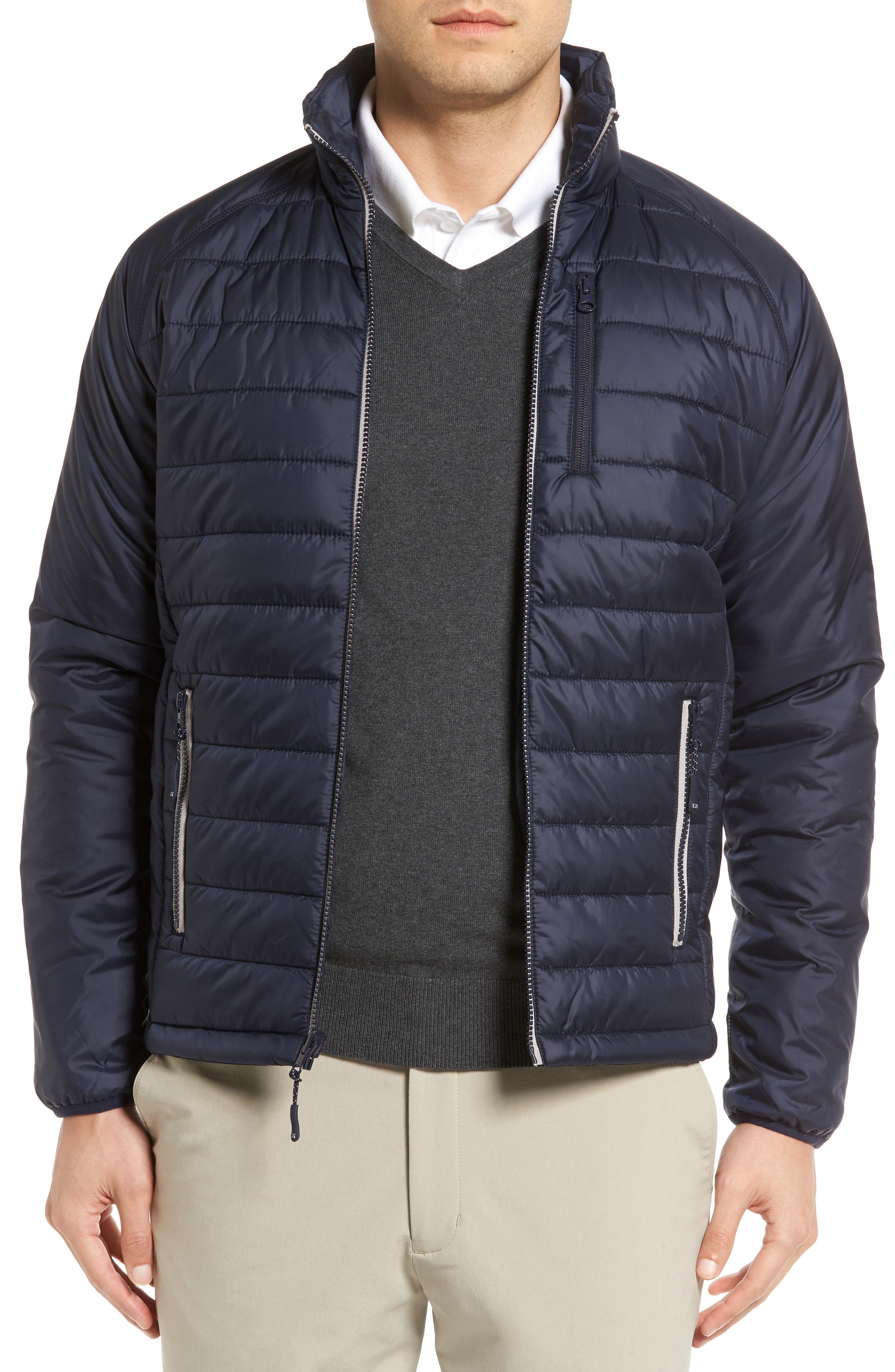 Main Image - Cutter & Buck Barlow Pass Quilted Jacket