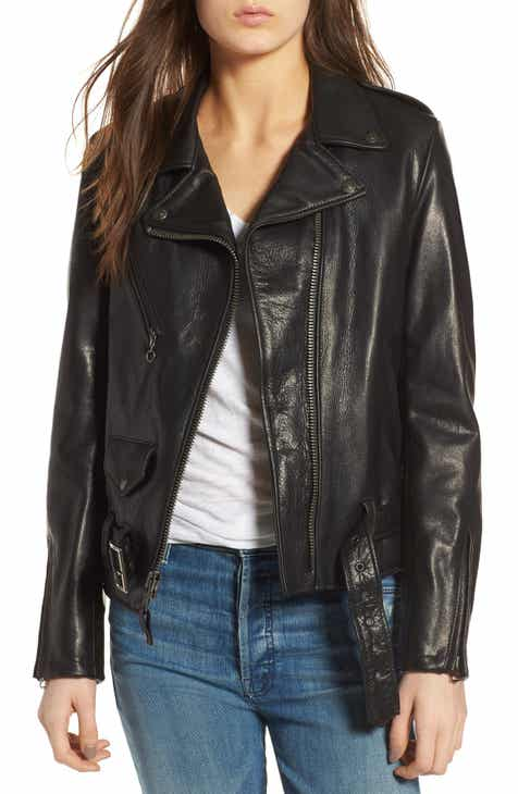 Schott NYC Lightweight Leather Jacket 8d695e4e751