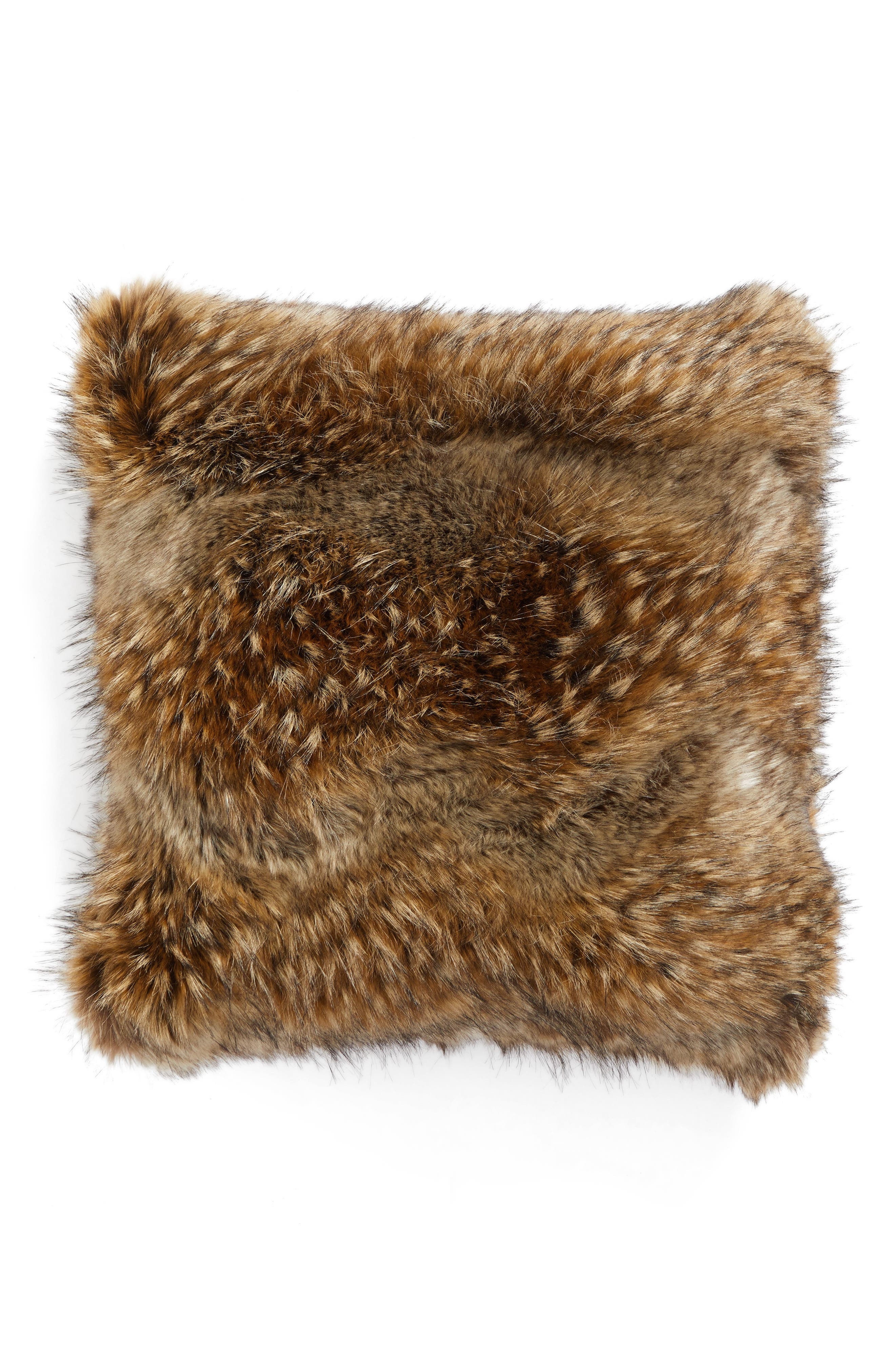 Main Image - Nordstrom at Home Faux Fur Accent Pillow