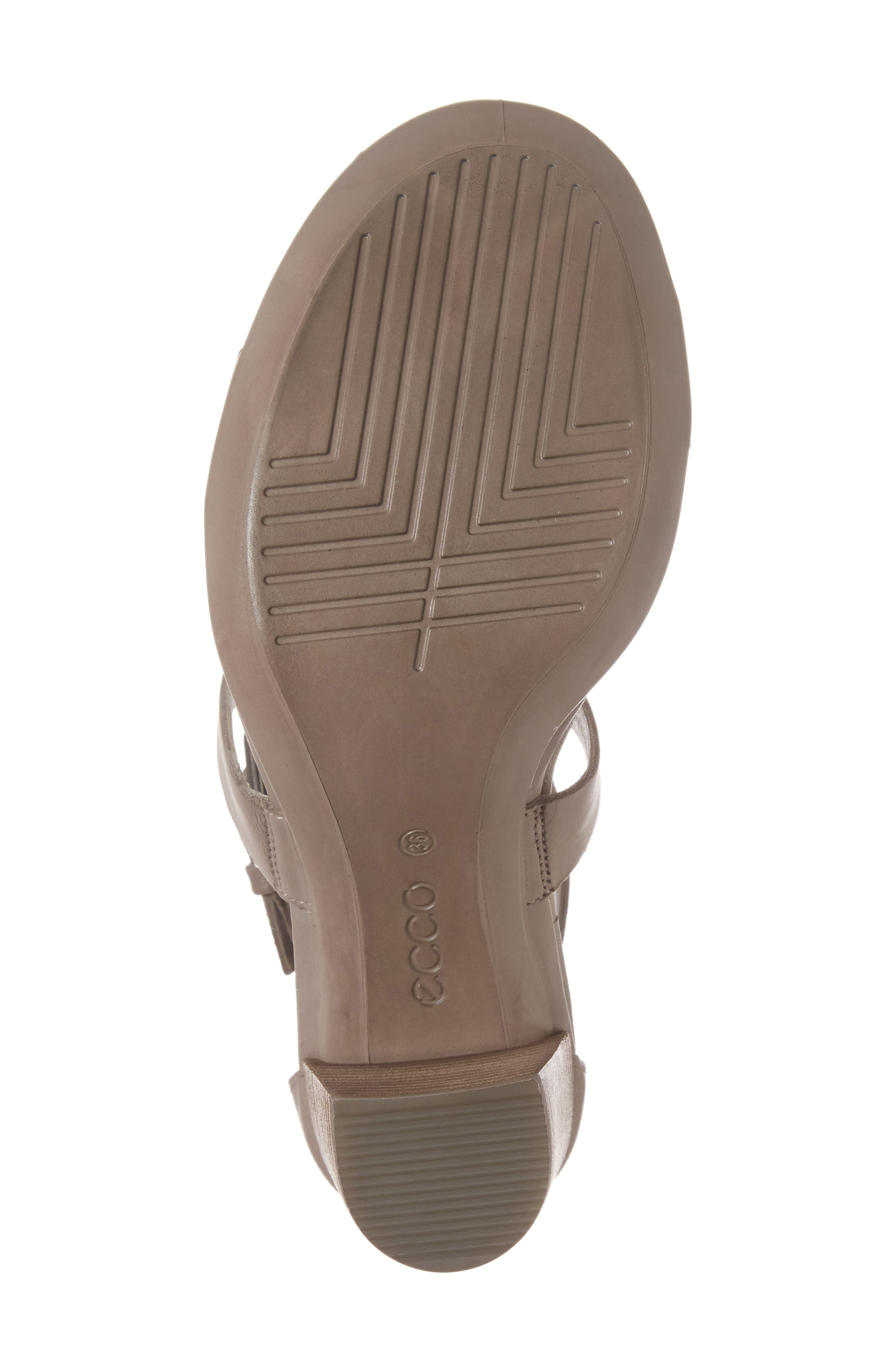Touch 65 Sandal,                             Alternate thumbnail 6, color,                             Moon Rock Leather