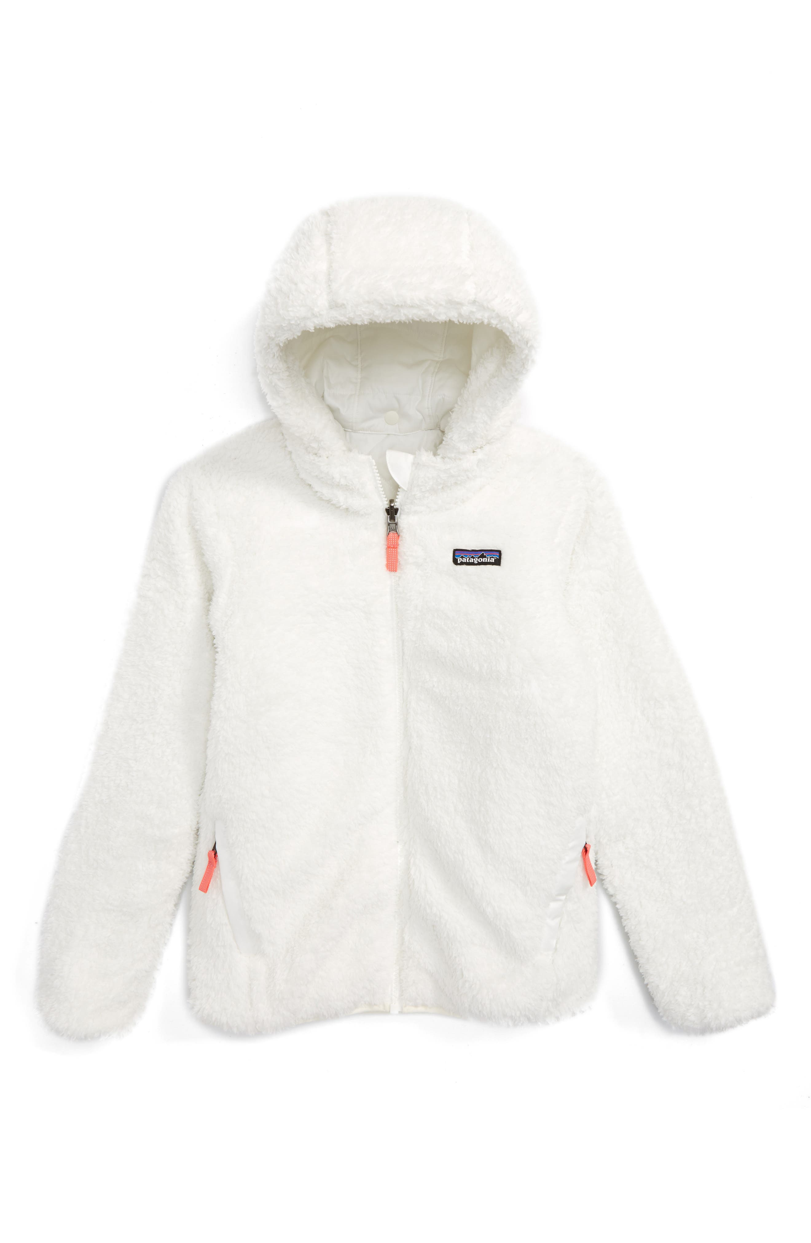 Alternate Image 2  - Patagonia Dream Song Water Repellent Reversible Jacket (Little Girls & Big Girls)