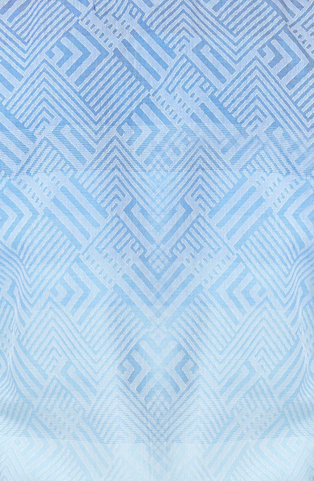 Alternate Image 3  - Maceoo Luxor Ombré Geo Sport Shirt