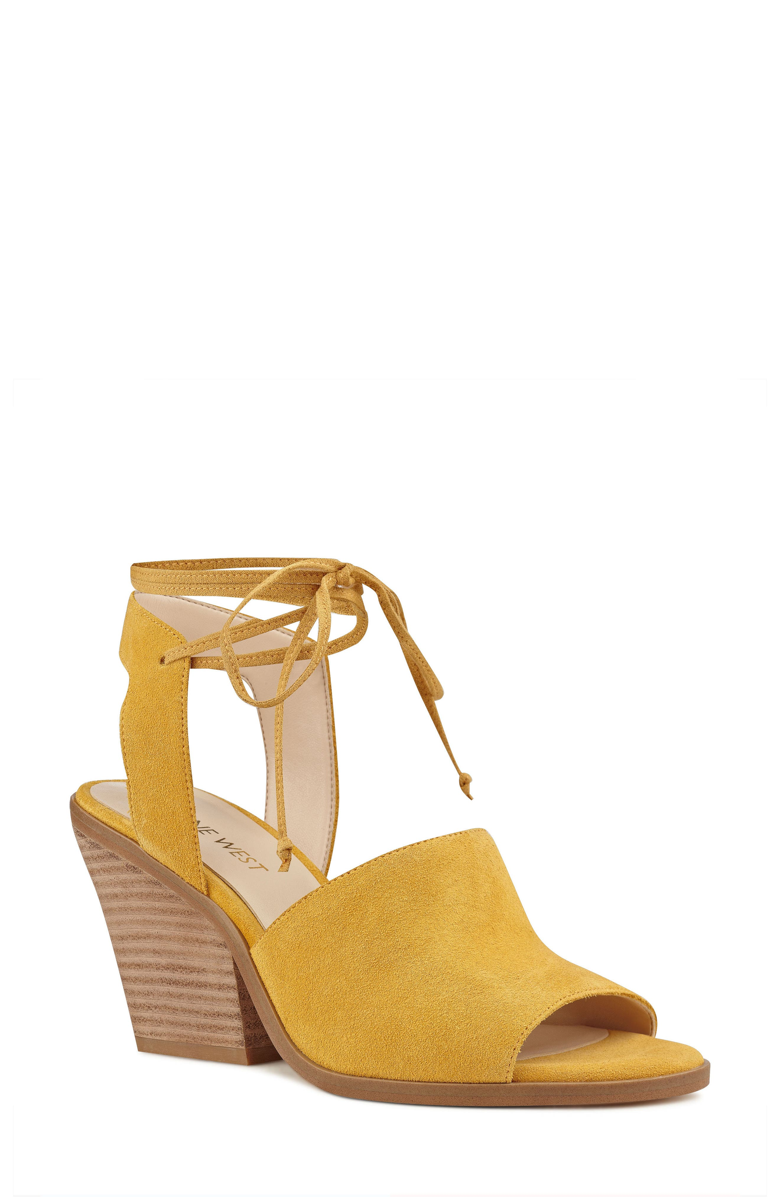 Nine West Yanka Ankle Tie Sandal (Women)