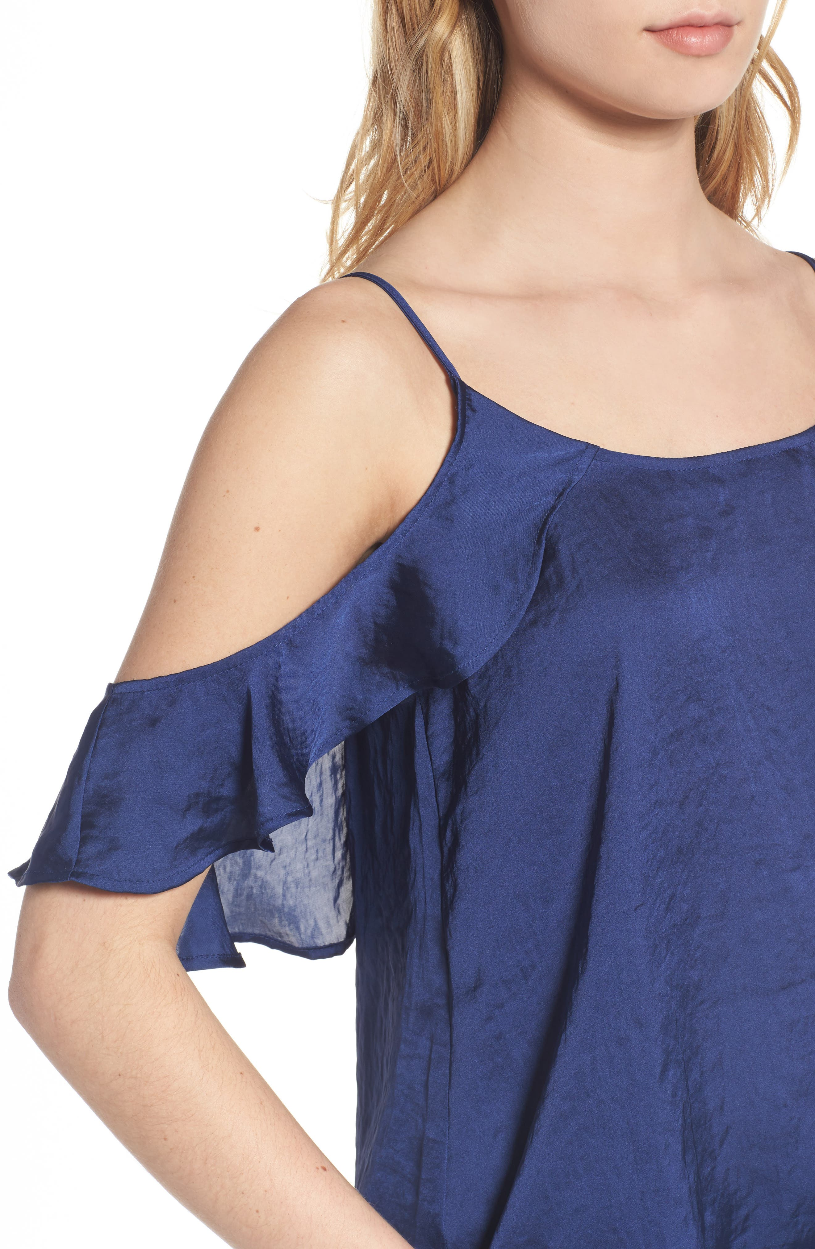 Alternate Image 4  - BP. Drape Ruffle Camisole