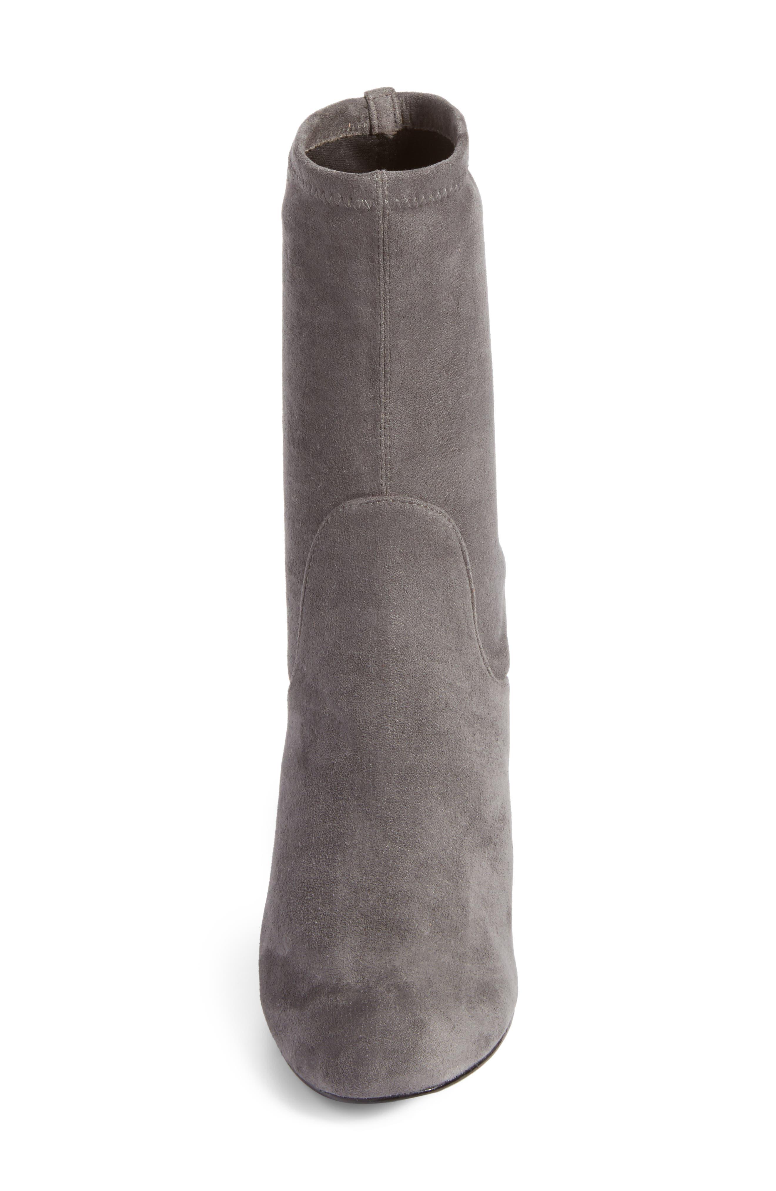 Alternate Image 4  - Halogen® Jacy Stretch Sock Bootie (Women)