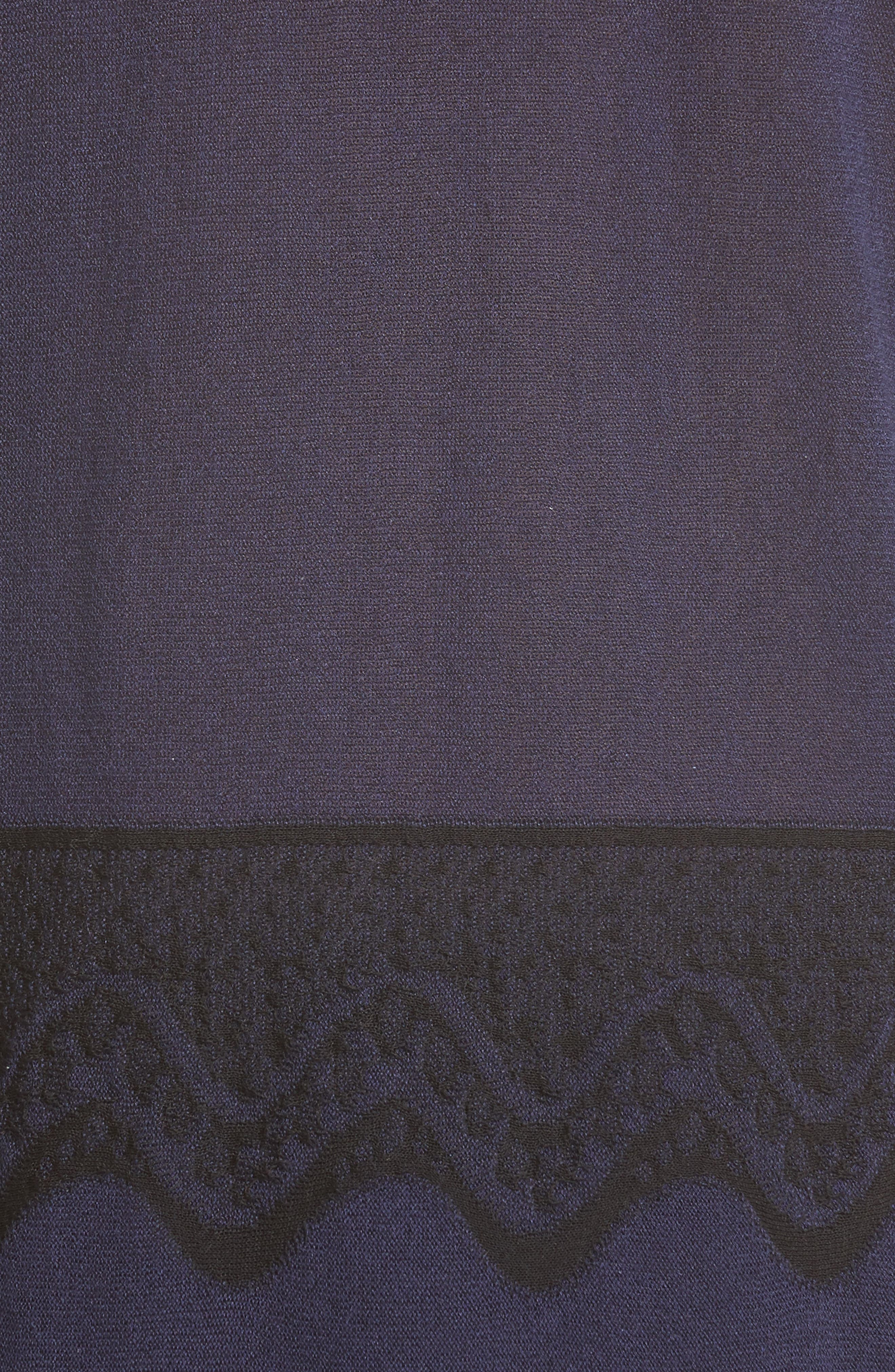 Alternate Image 6  - Derek Lam 10 Crosby Lace Hem Silk & Cashmere Pullover