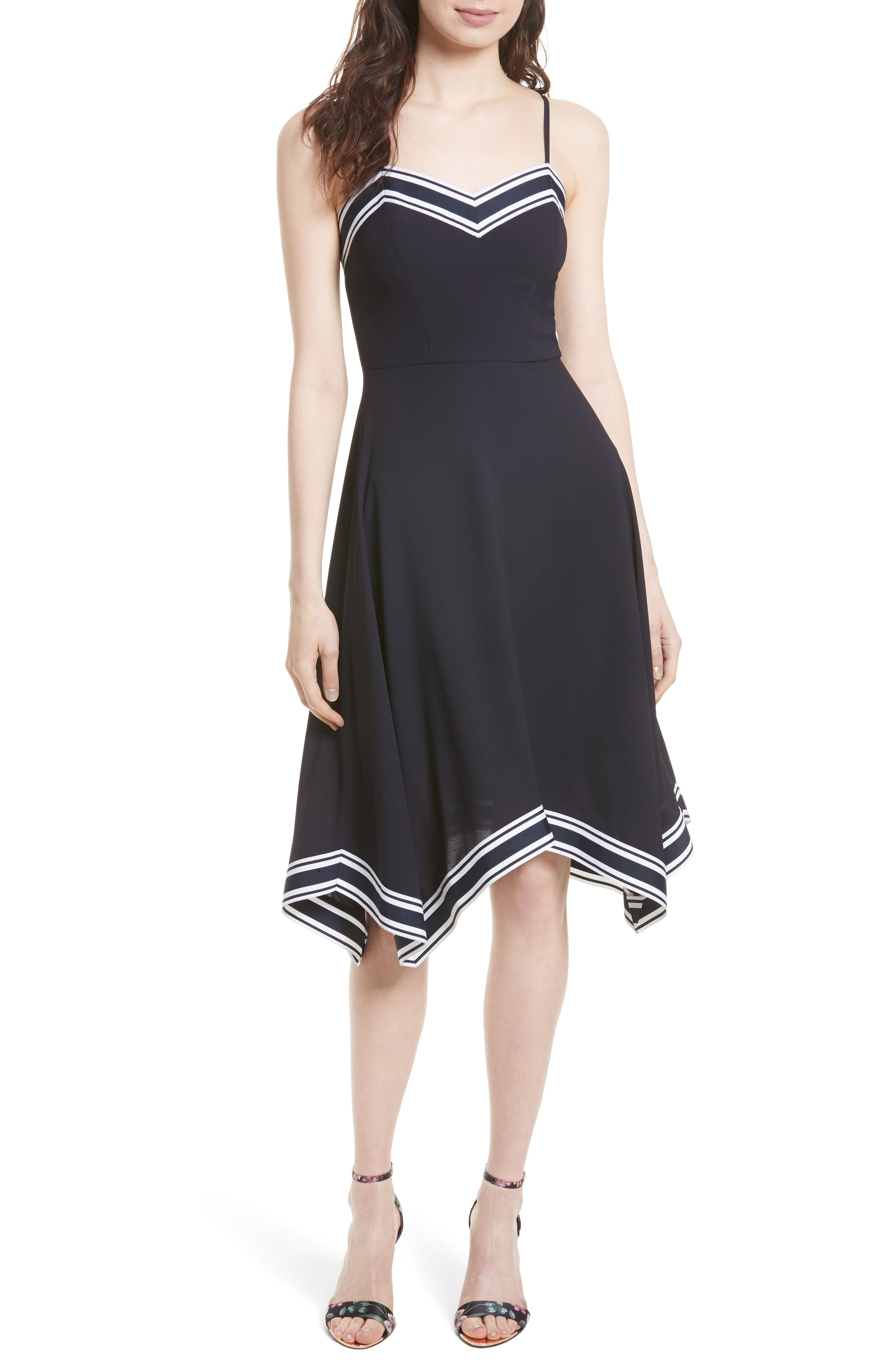 Ted Baker London Kahmen Strappy Midi Dress