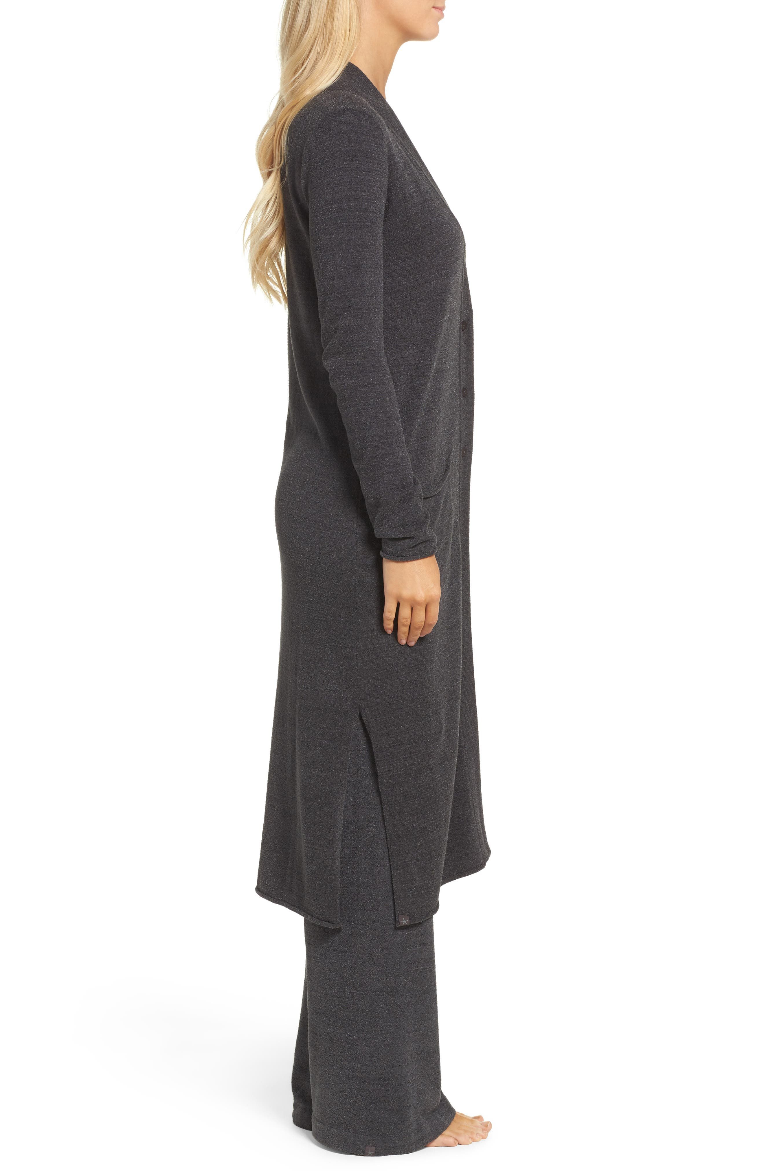 Barefoot Dreams Cozychic Ultra Lite<sup>®</sup> Duster,                             Alternate thumbnail 3, color,                             Carbon