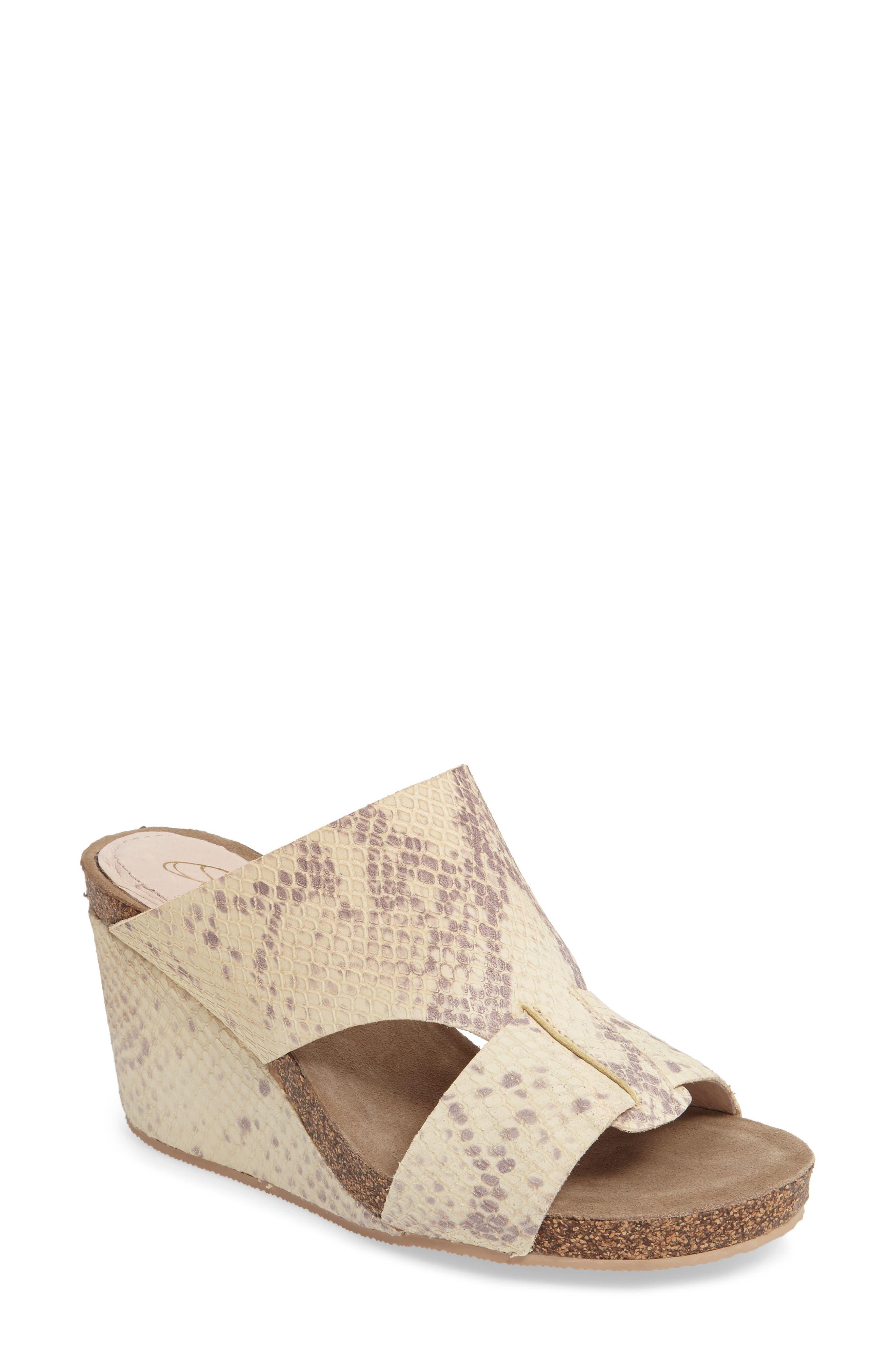 Alternate Image 1 Selected - Sudini Berta Wedge Sandal (Women)