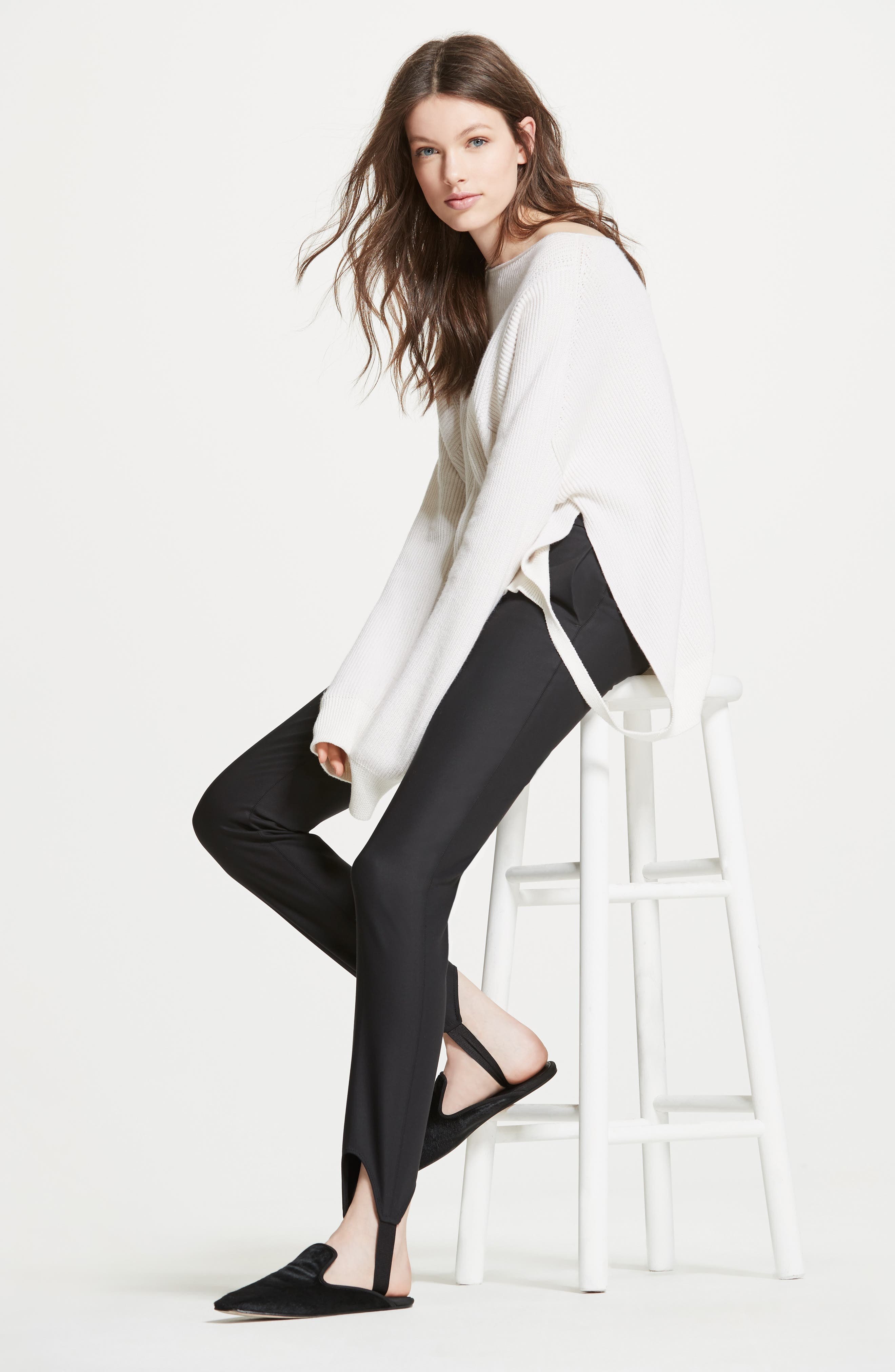 Helmut Lang Pullover & Pants Outfit with Accessories