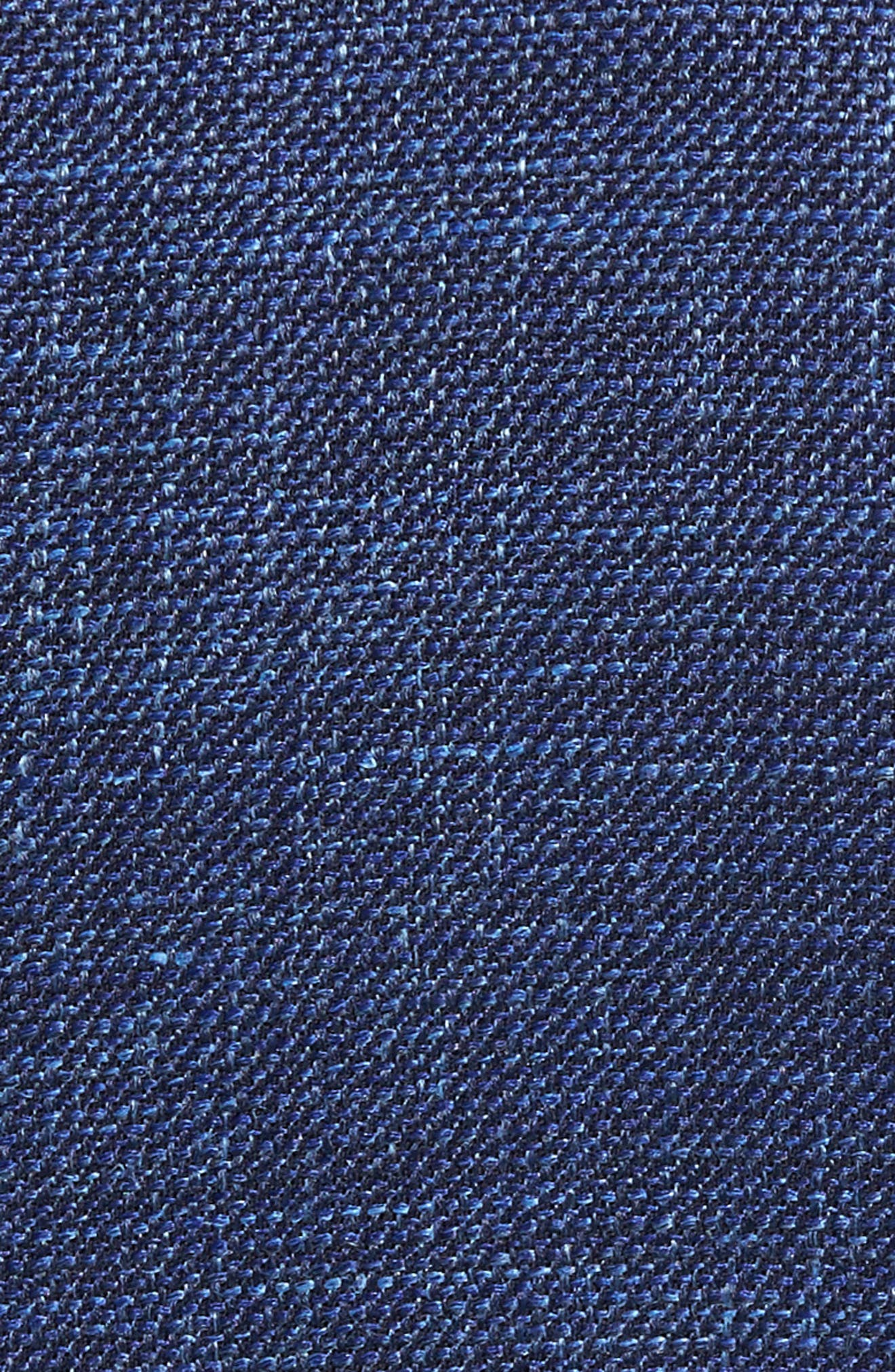 Plaid Wool Blend Blazer,                             Alternate thumbnail 5, color,                             Blue